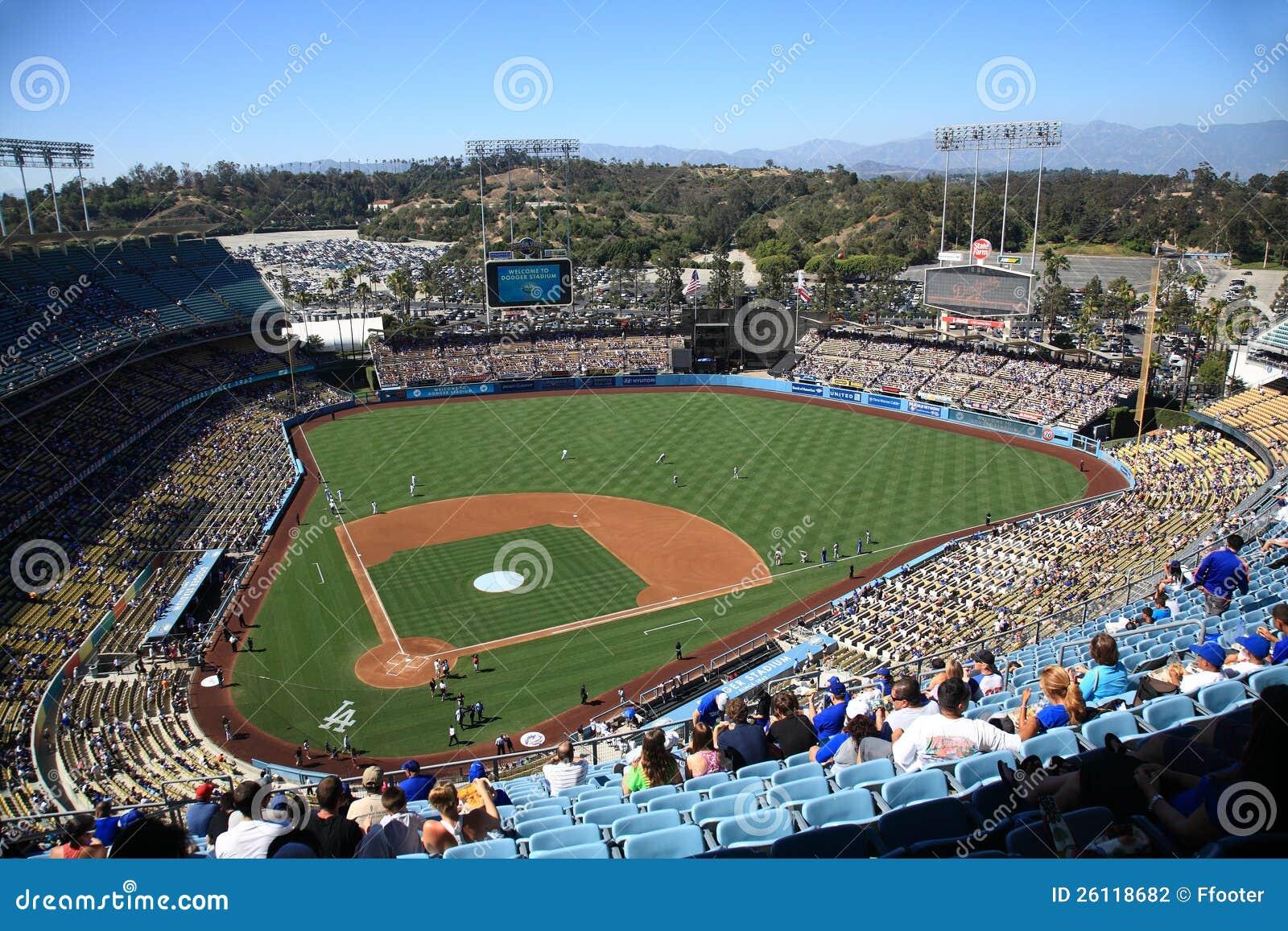 Dodger Stadium - Los Angeles Dodgers Editorial Photography ...