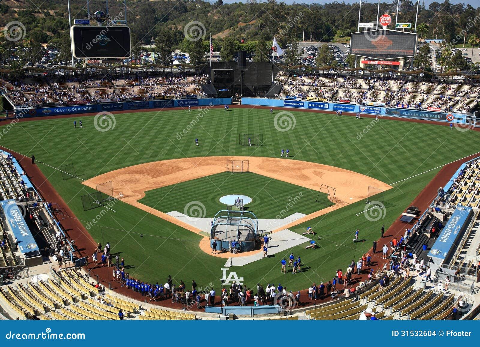 Los Angeles Dodgers Baseball Stadium Dodger Baseball Stadium