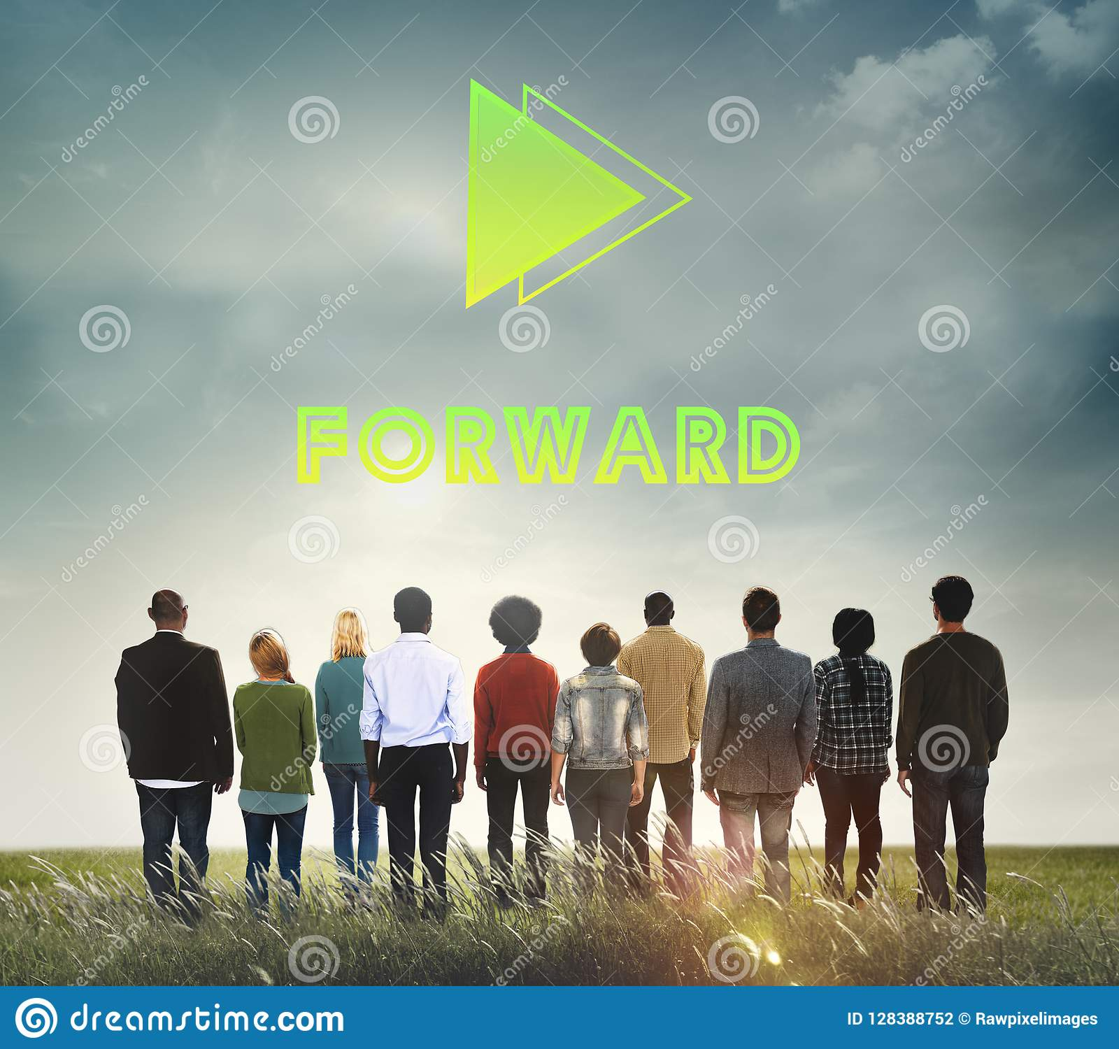 Doelstellingen Concept van de het Succesopdracht van de Doel het Voorwaartse Positiviteit