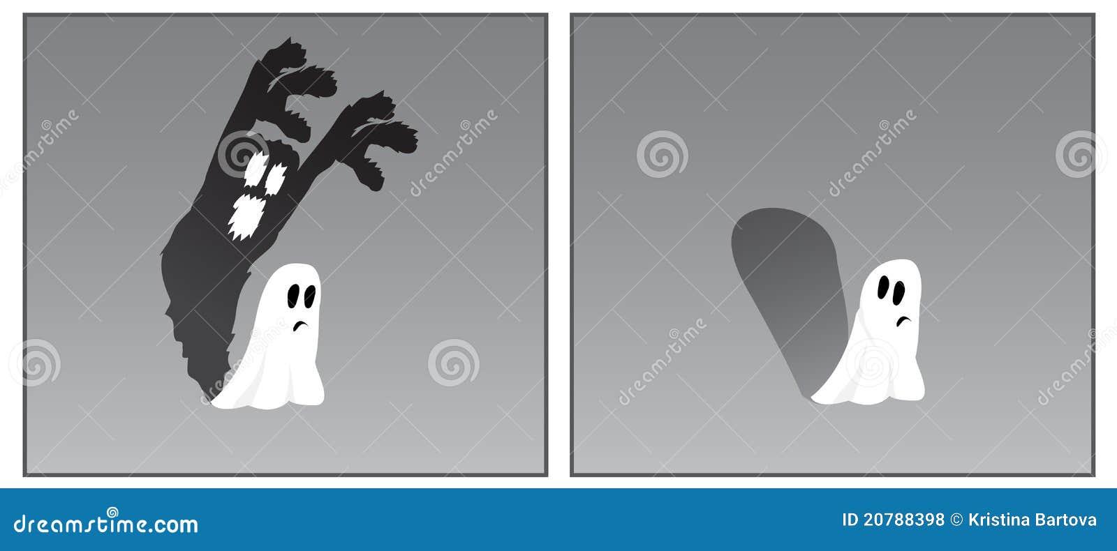 Doen schrikken spook