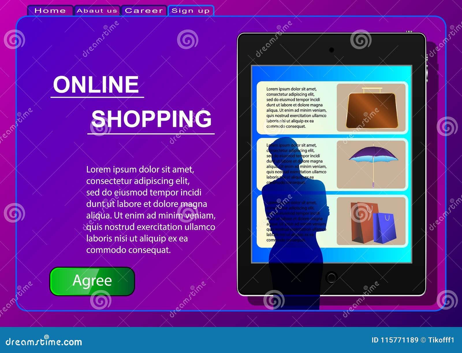 Dof καρτών αγορές χεριών εστίασης ρηχές on-line πολύ Πώληση, καταναλωτισμός και έννοια ανθρώπων Μια γυναίκα σε ένα σε απευθείας σ