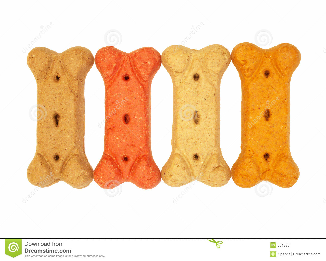 Dog bone biscuits stock photo. Image of snack, food, train ...