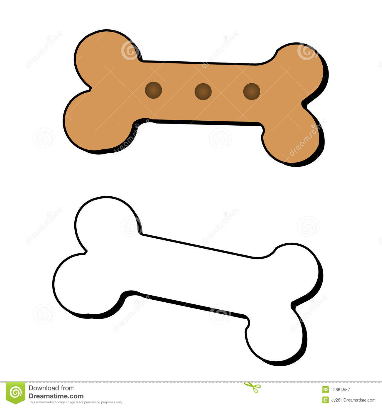 Dog bone vector free download - photo#19