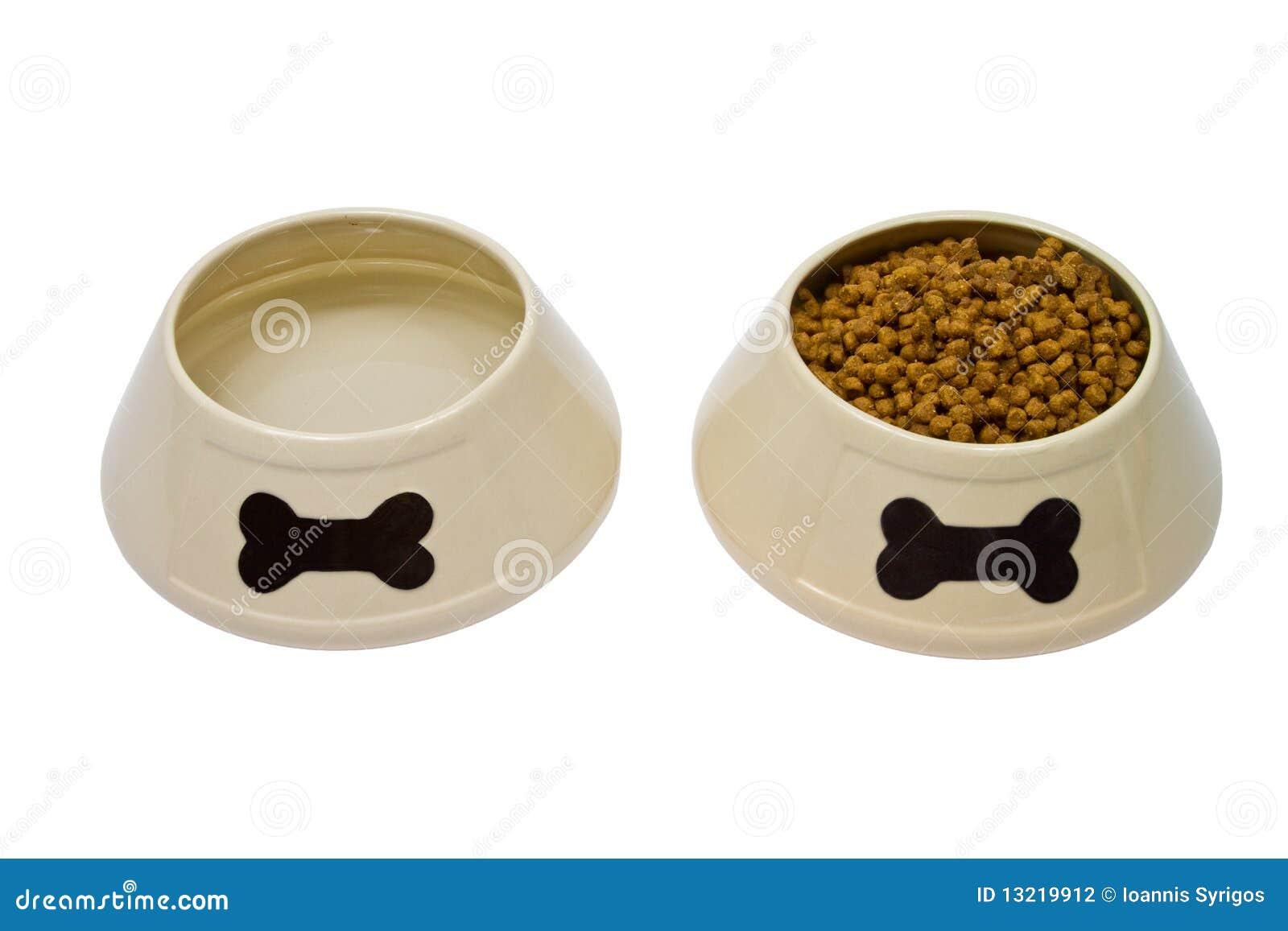 Dog Food Bowl Clipart