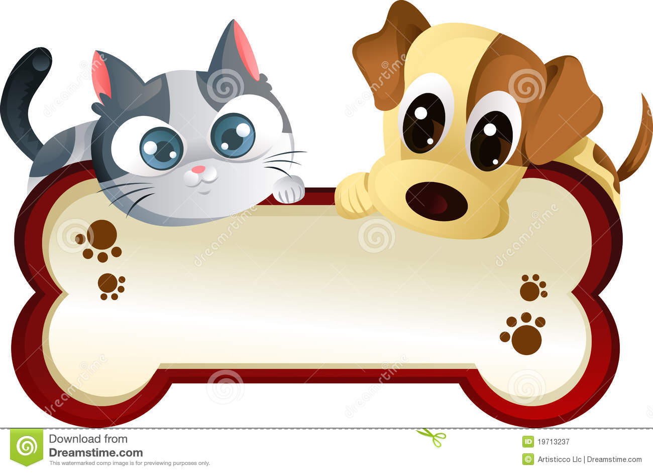 clip art free dogs and cats - photo #31