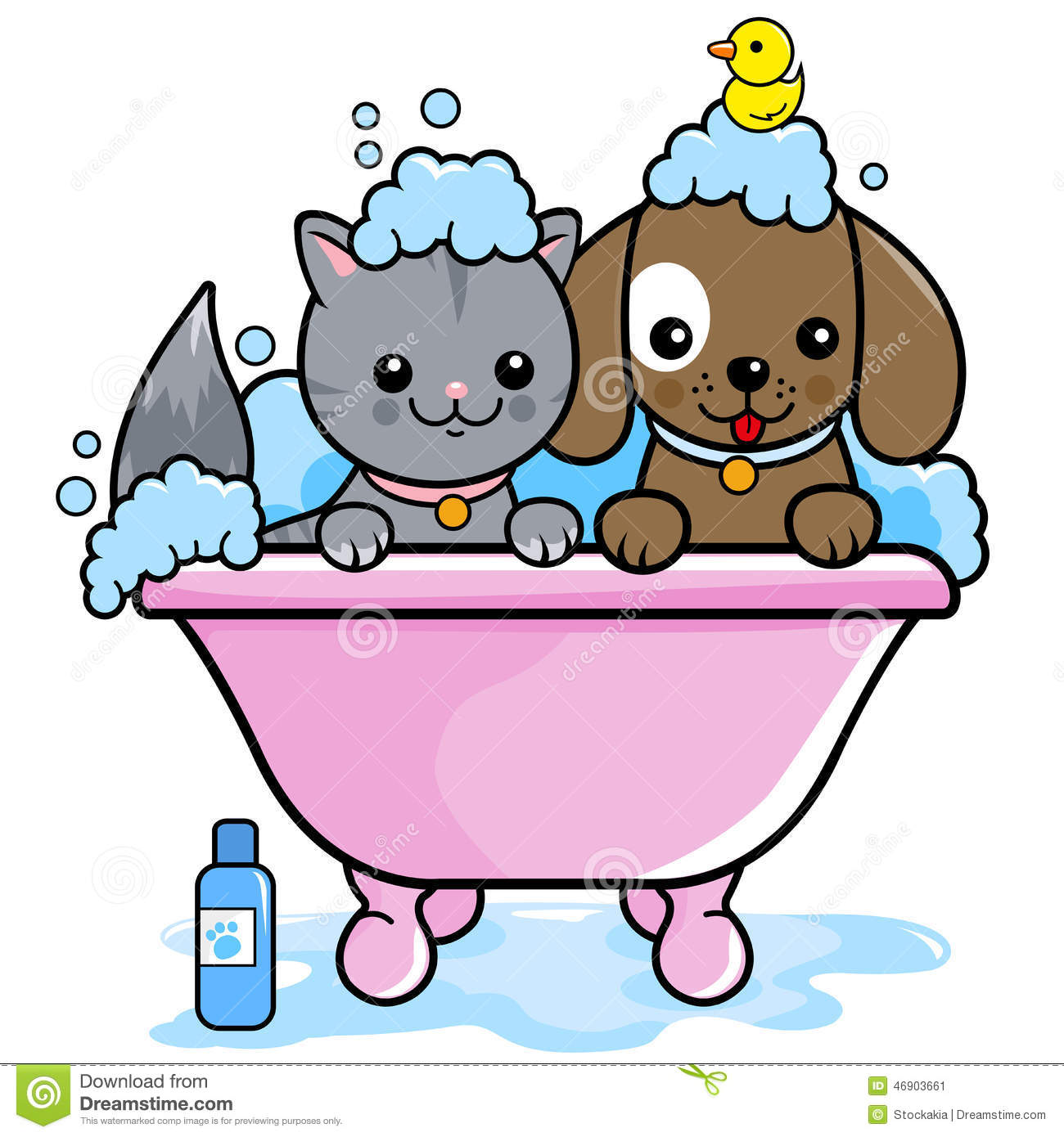 How To Give A Dog A Bath In The Tub