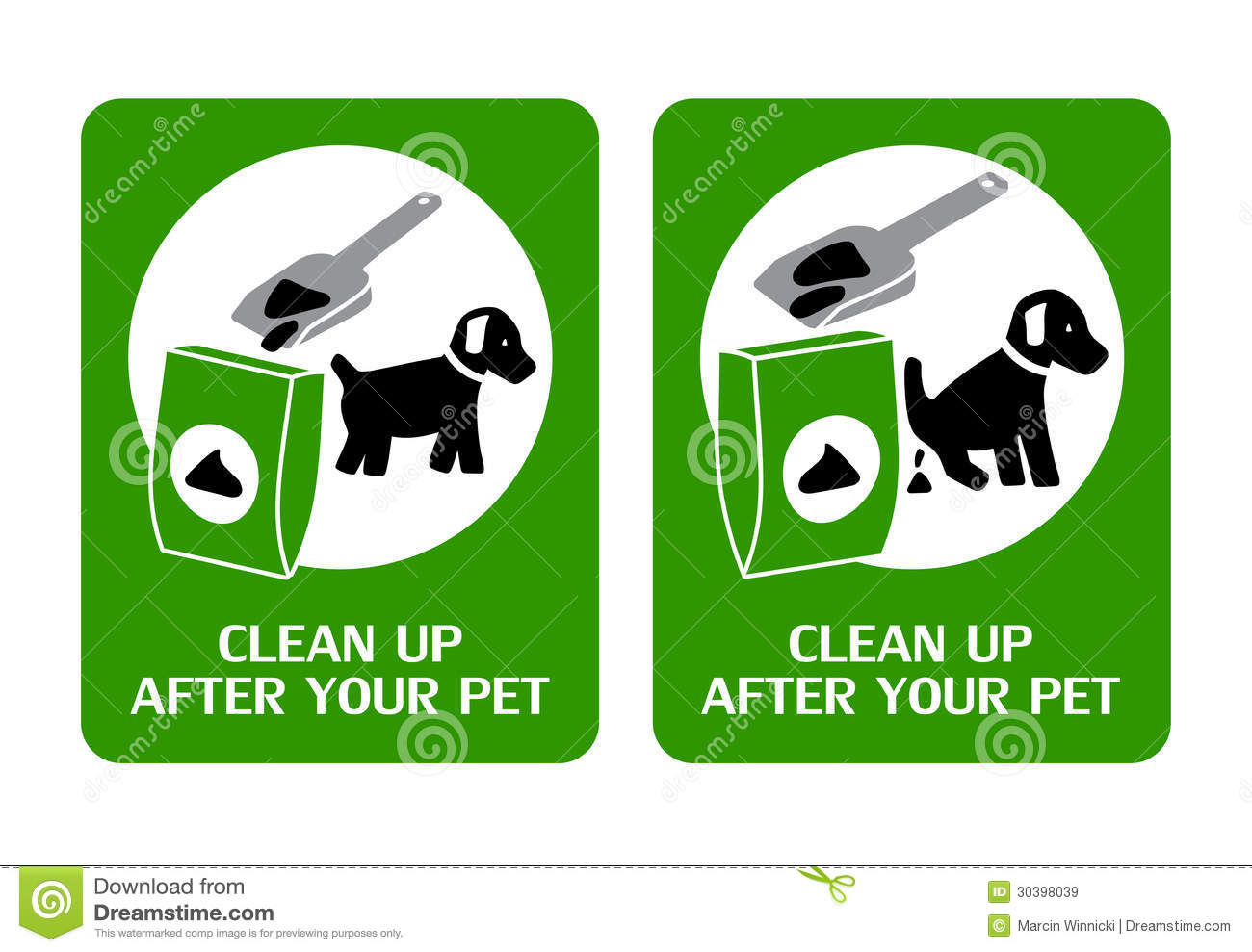dog poop clean up service blog business plan