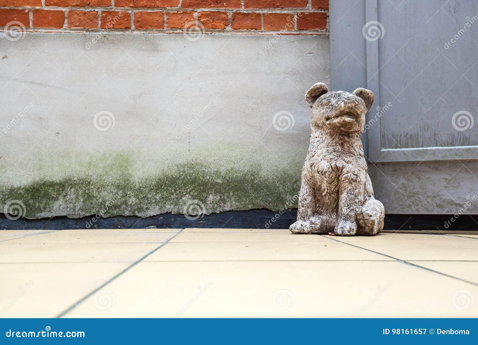 Dog Door Stop Stock Image Image Of Interior Construction 98161657