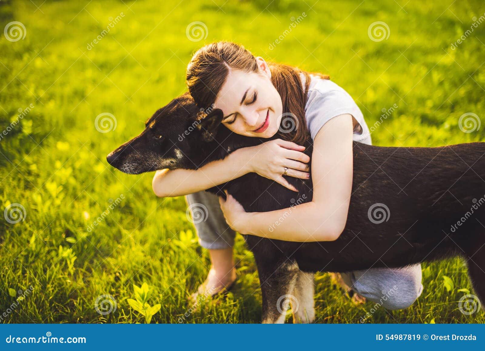Dog flickan