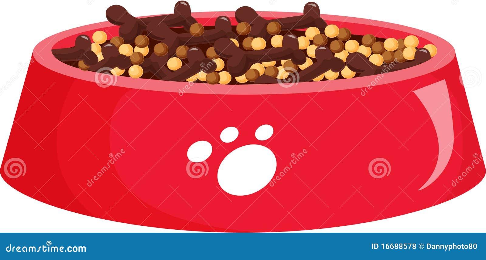 Dog food stock illustration. Illustration of background ...