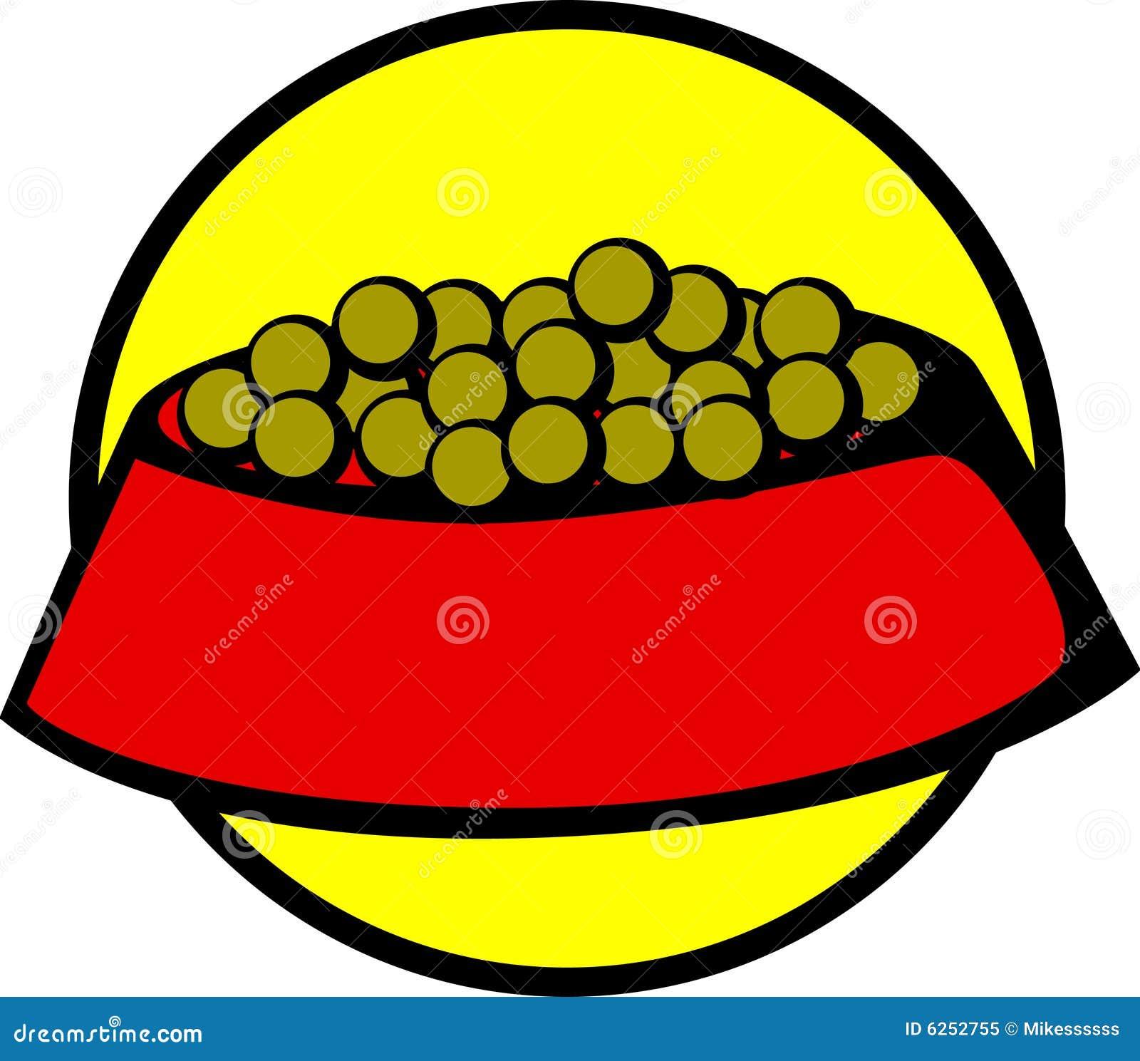 Dog Food Bowl Vector Illustration Stock Vector ...