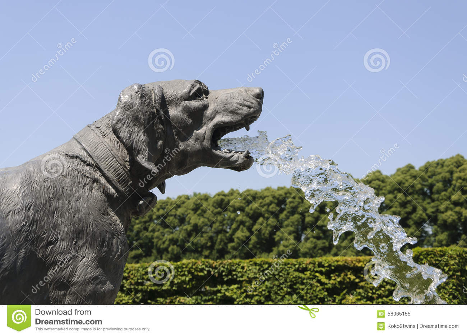 Charmant Dog Fountain