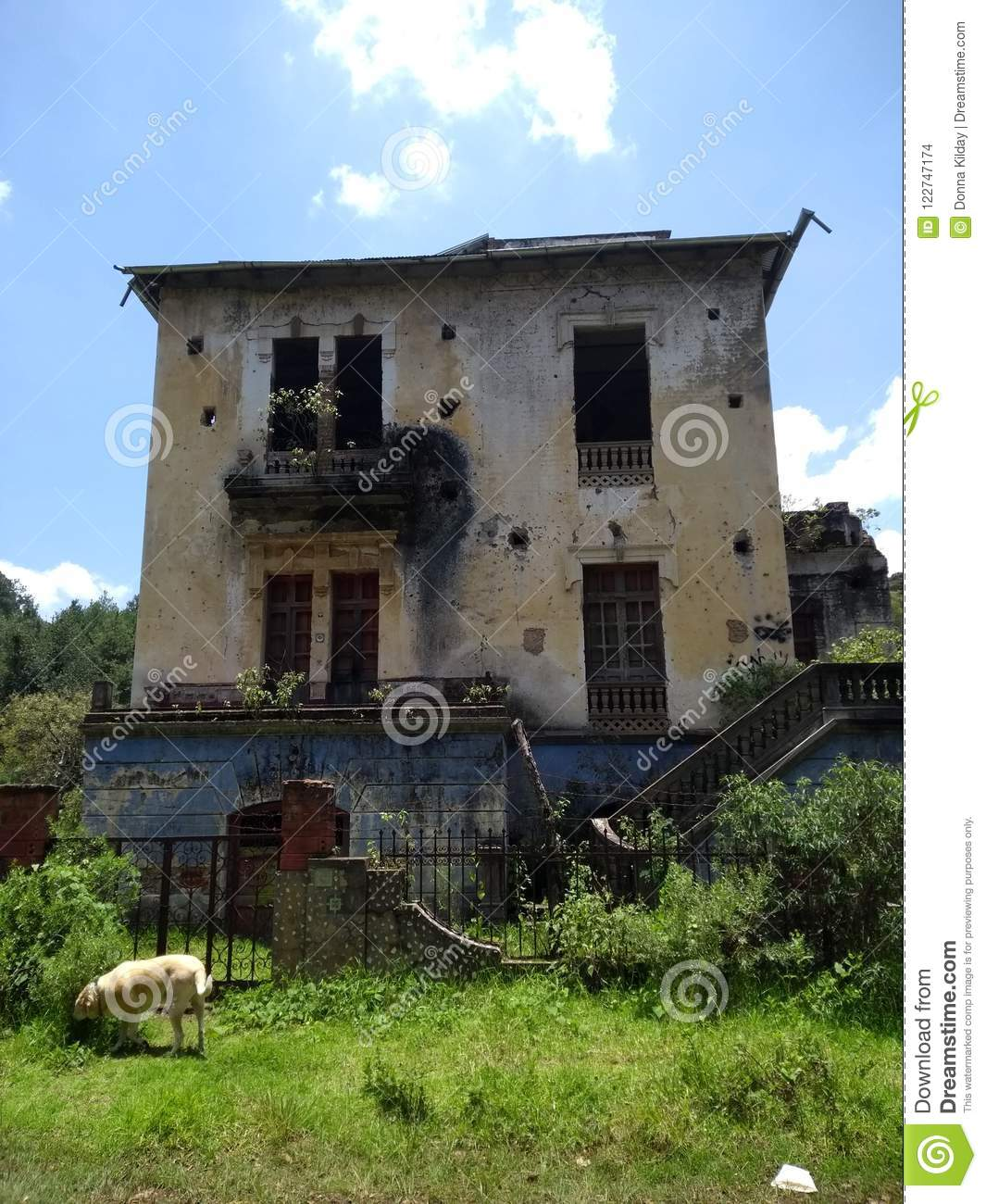 Abandoned House Stock Images