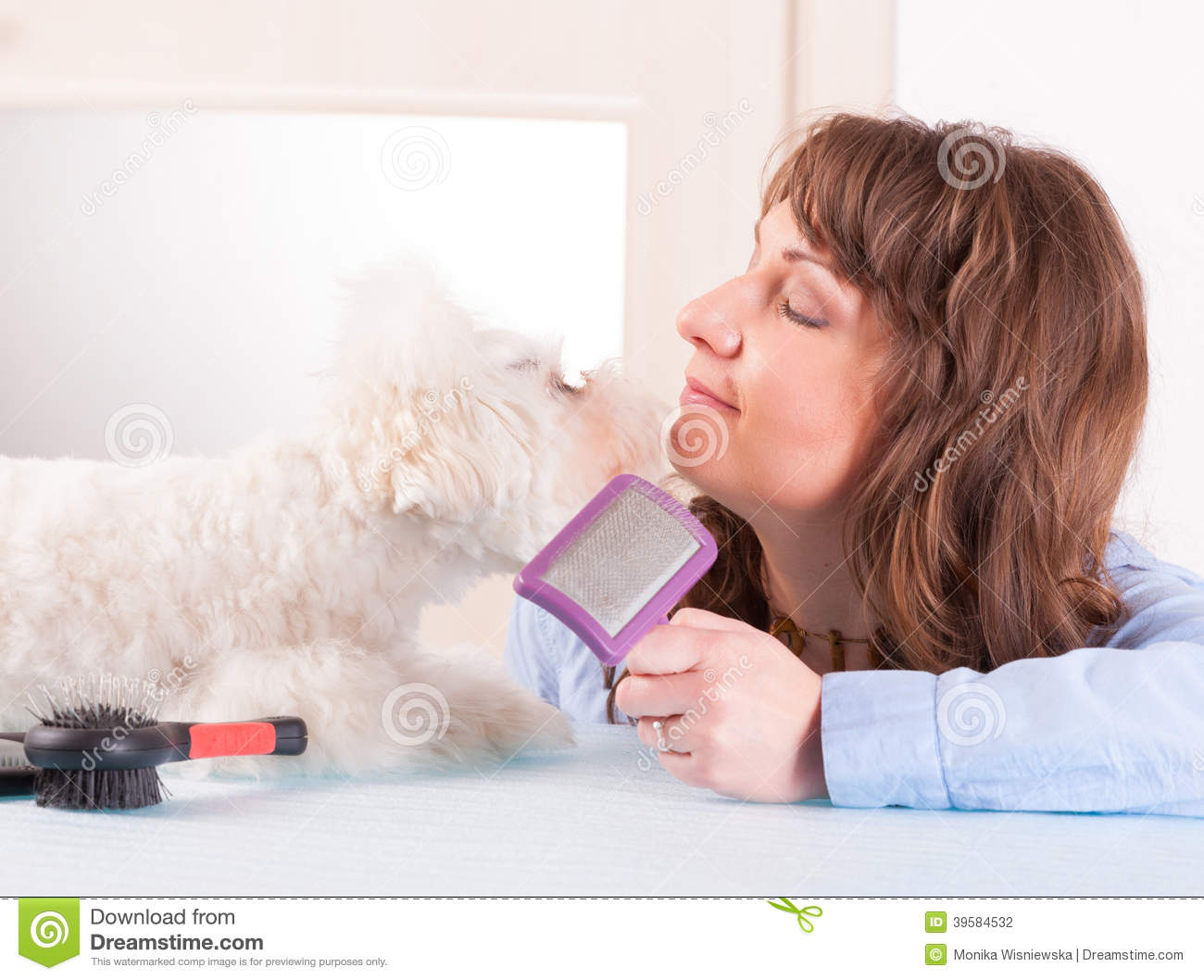 Related image with Dog Breeding A Woman