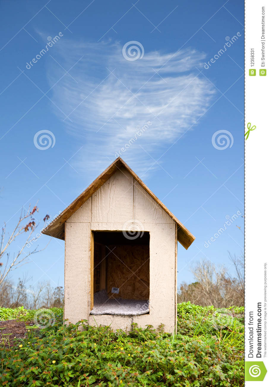 Download Dog house stock image. Image of structure, present, needs - 12358331