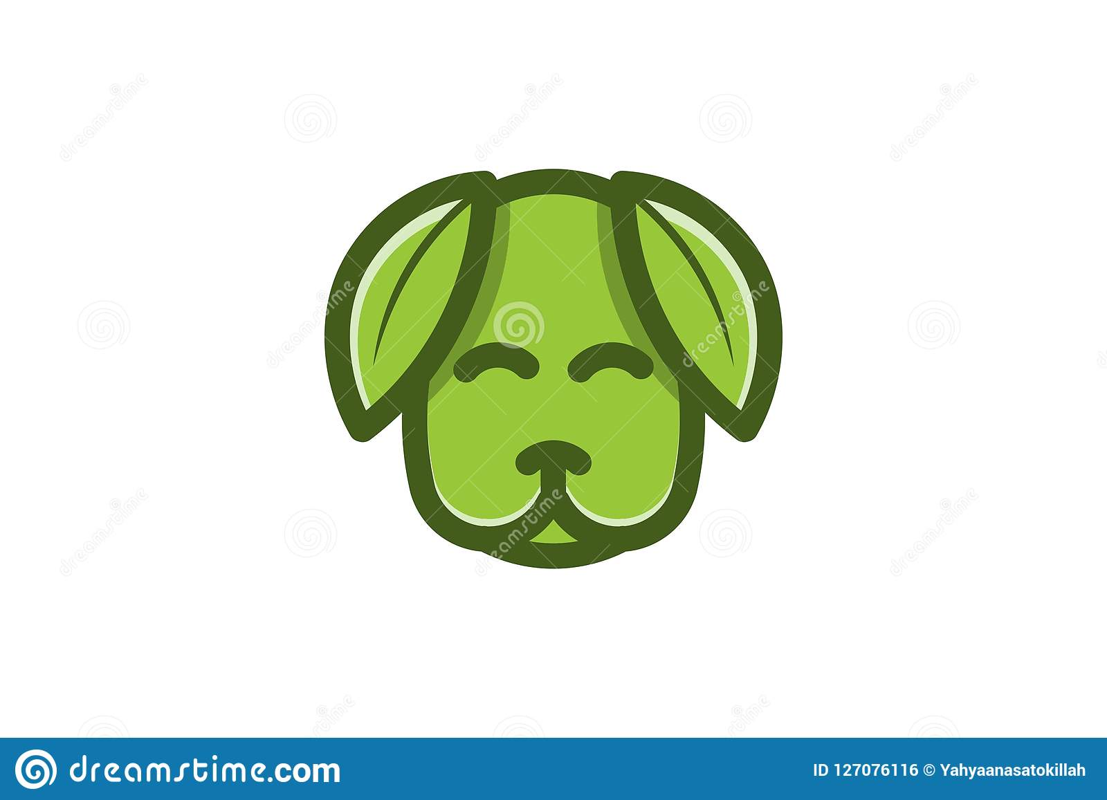 Dog Leaf, Pet Healthy Logo Designs Inspiration, Vector ...