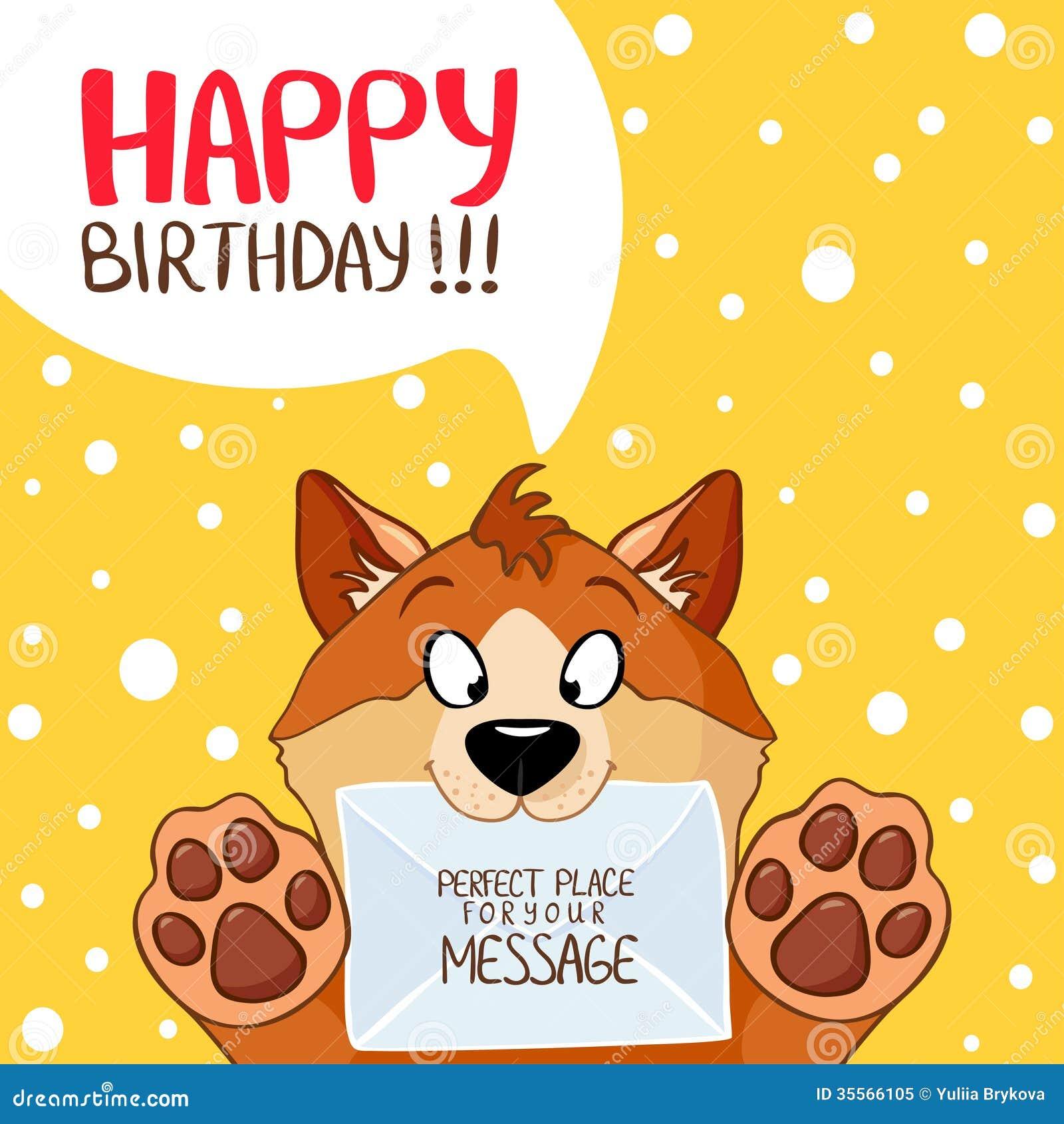 Funny Happy Birthday Dog