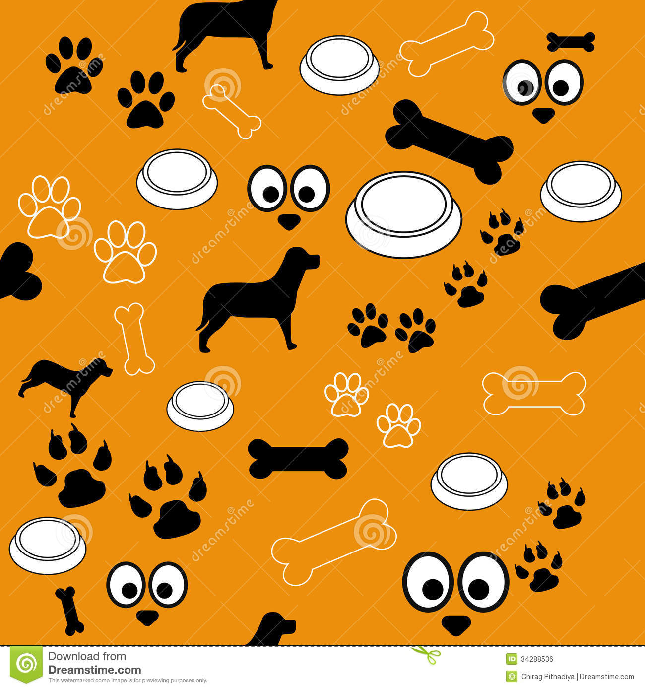 Clipart Dog Paw