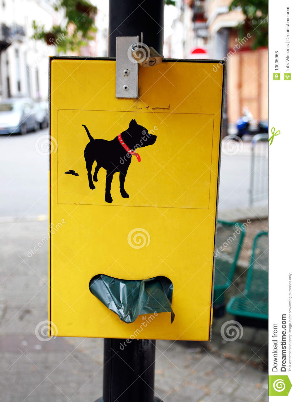 dog poop bag dispenser for parks