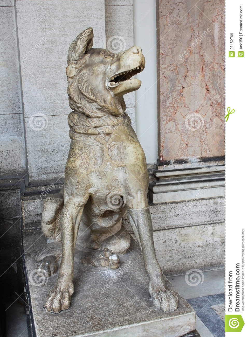 dog sculpture royalty free stock images