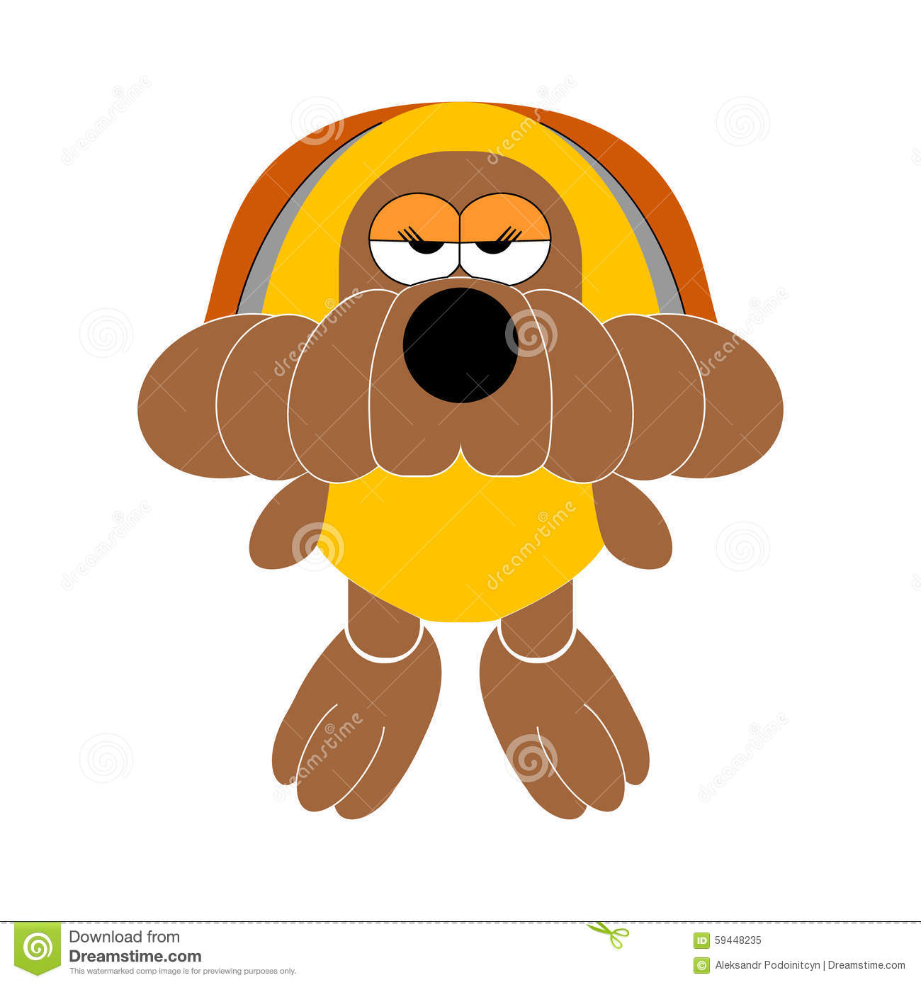 Soft Toys Clip Art : Dog soft toy doggy stock vector image
