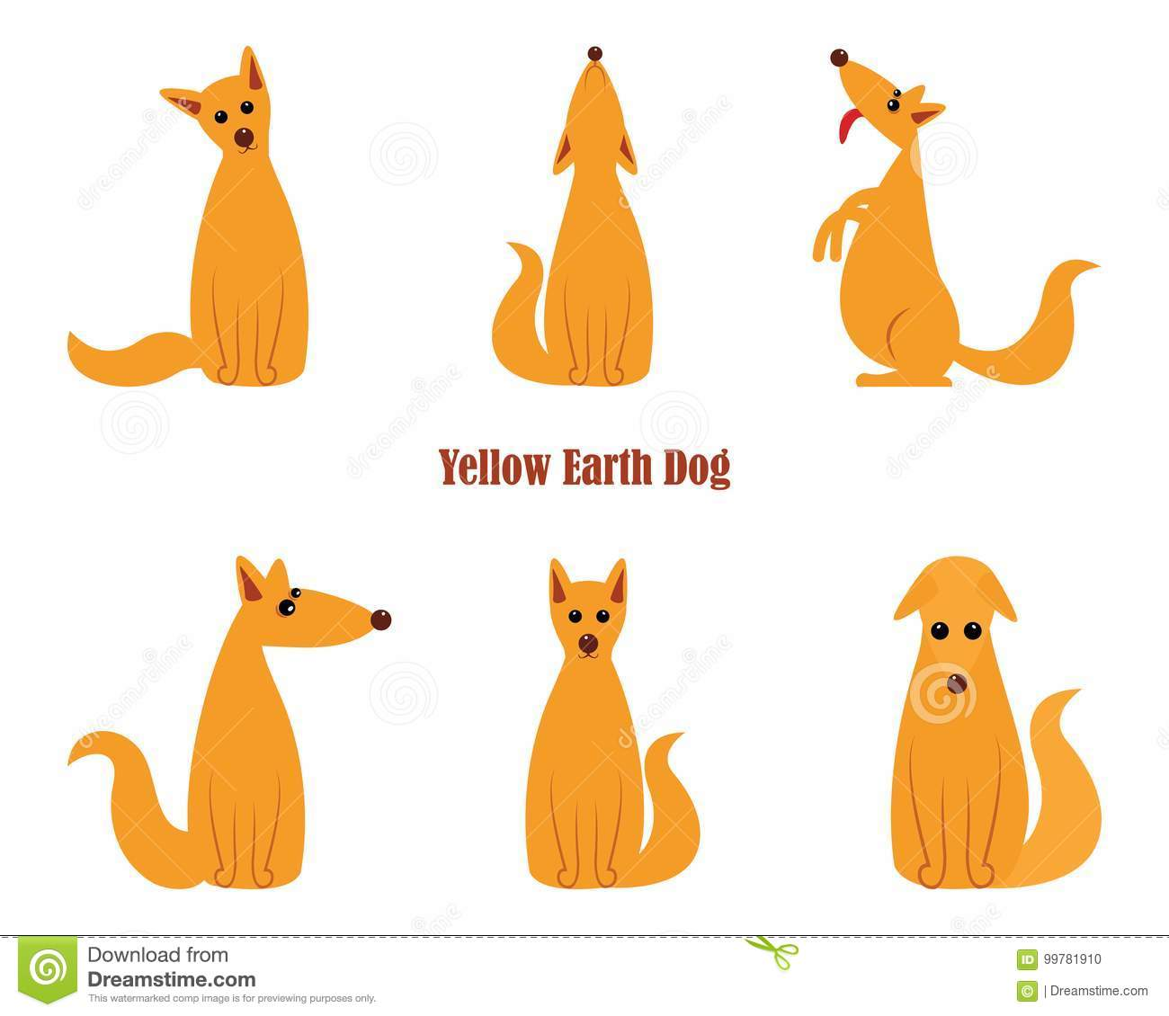 Dog Is Symbol Of New 2018 Year According To Chinese Calendar Year