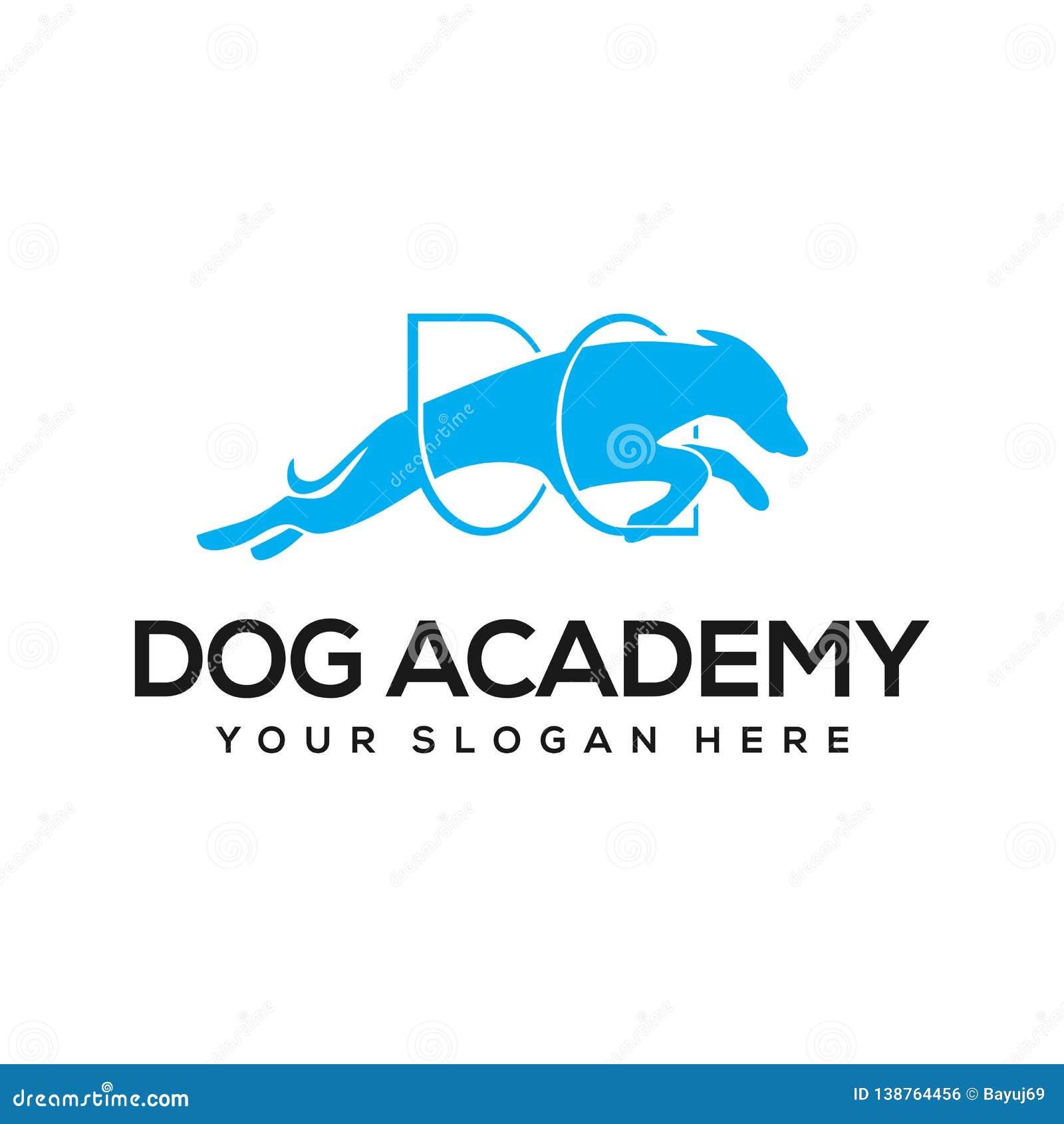 Dog academy logo design inspiration
