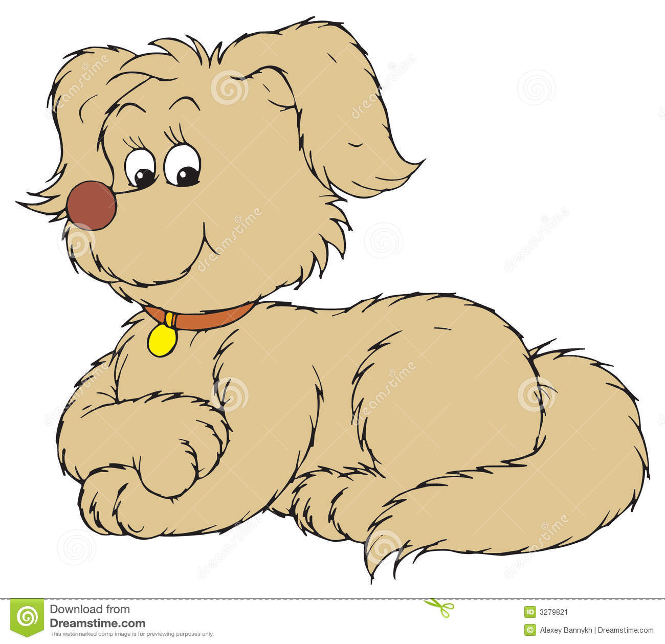 Dog (vector Clip-art) Stock Image - Image: 3279821