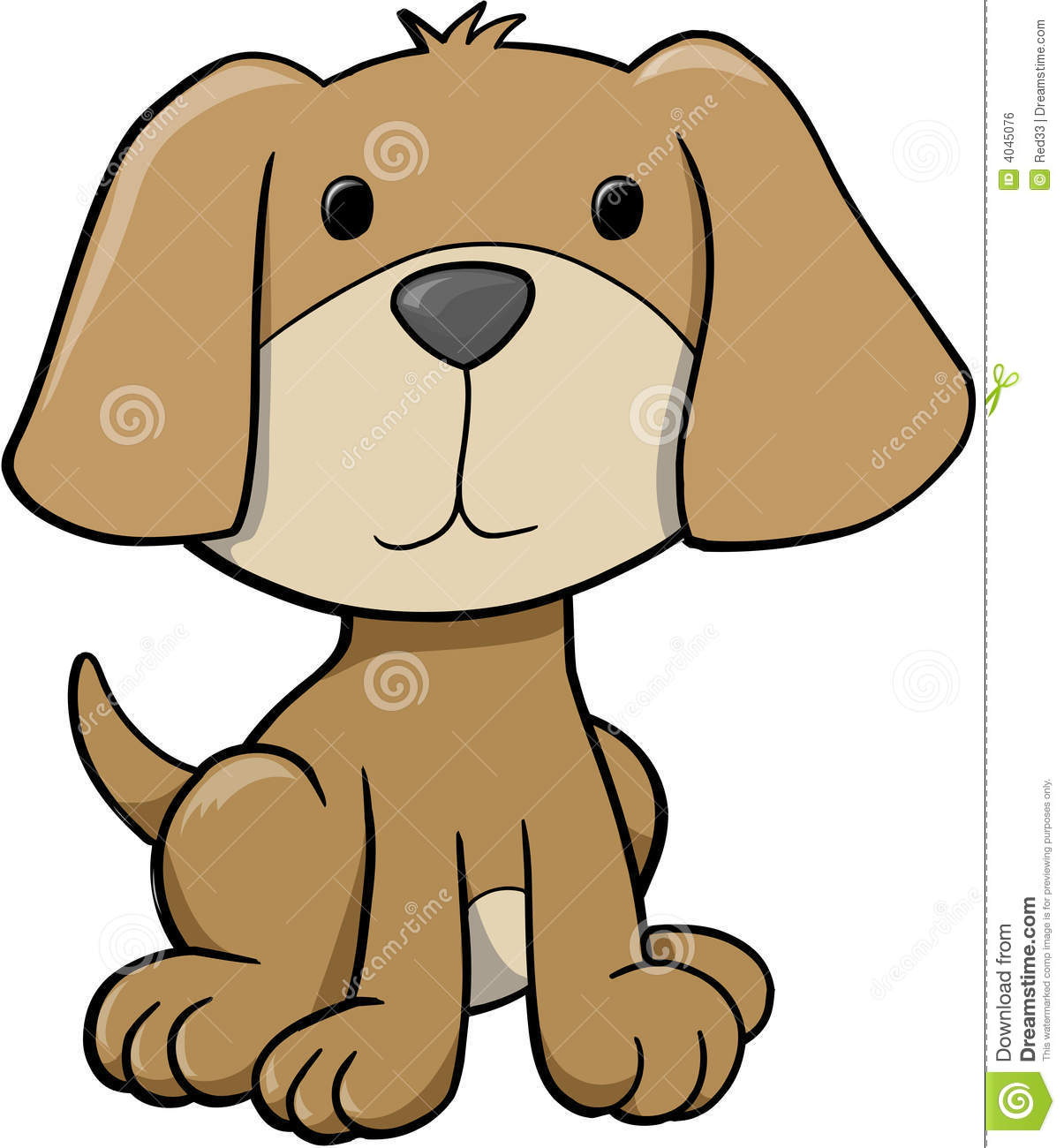 Dog Vector Illustration Royalty Free Stock Image Image 4045076