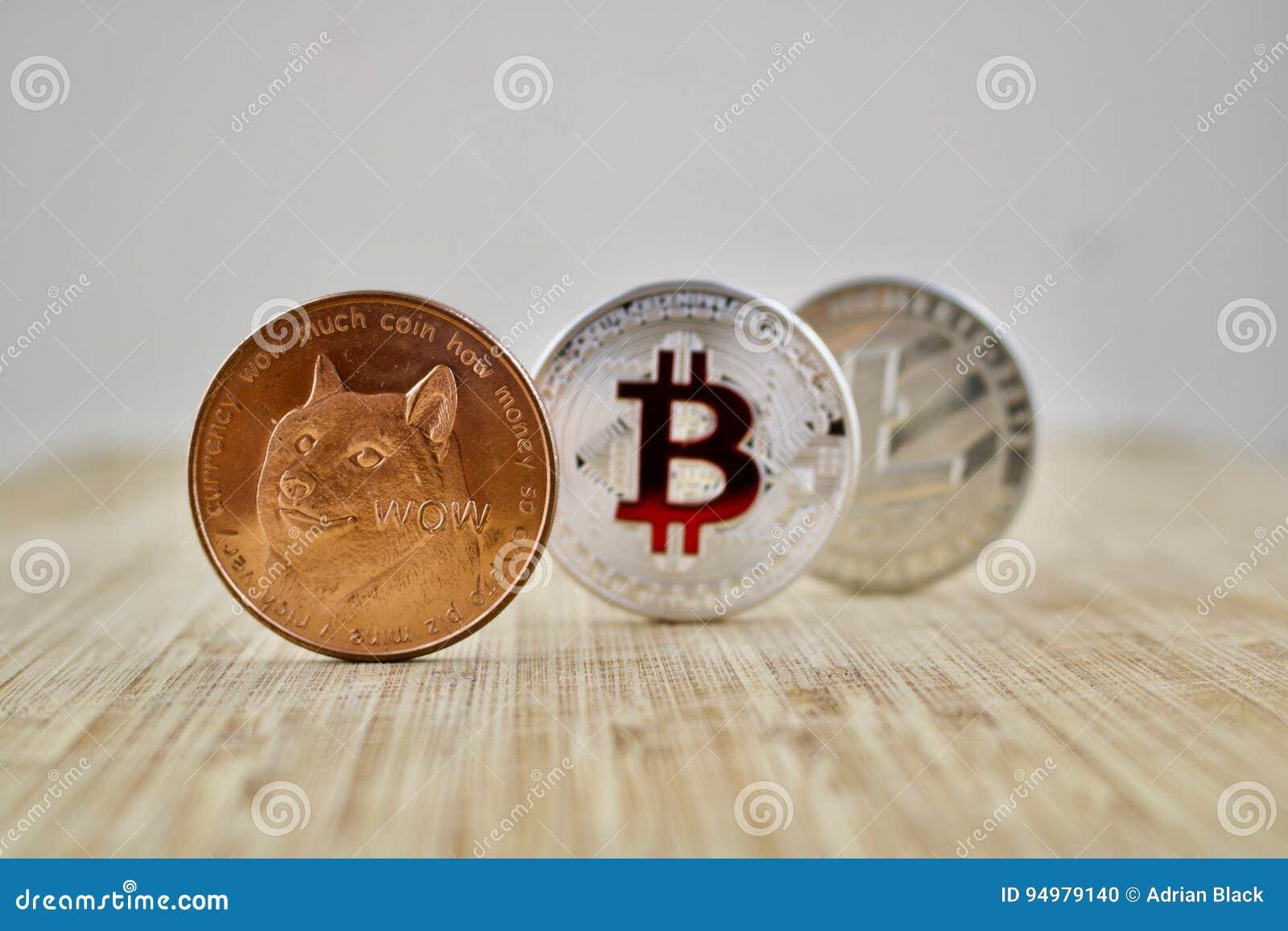 bitcoin litecoin dogecoin)