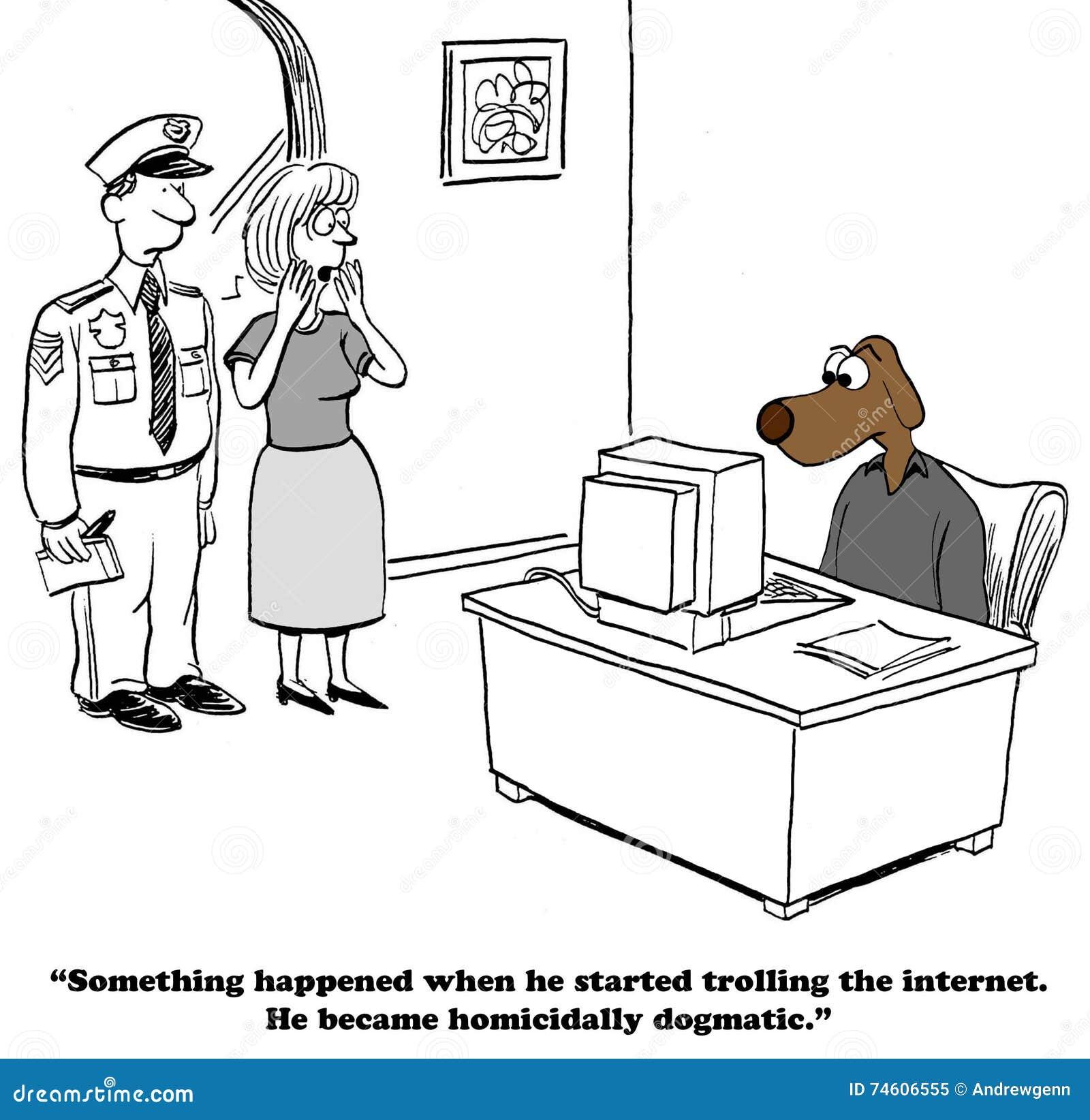 Dogmatiskt på internet