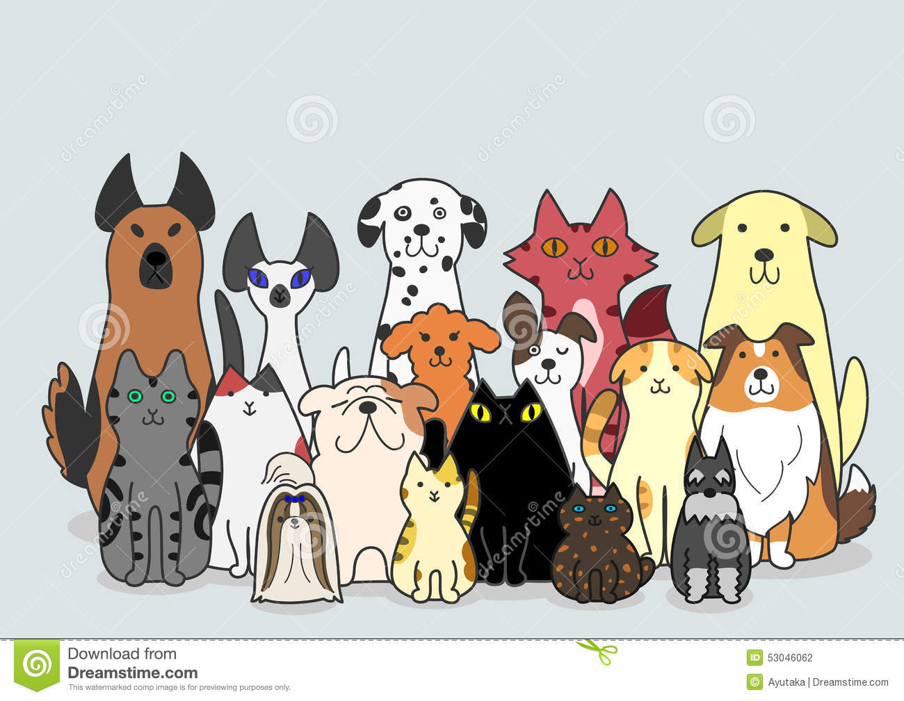 Dogs And Cats Group St...