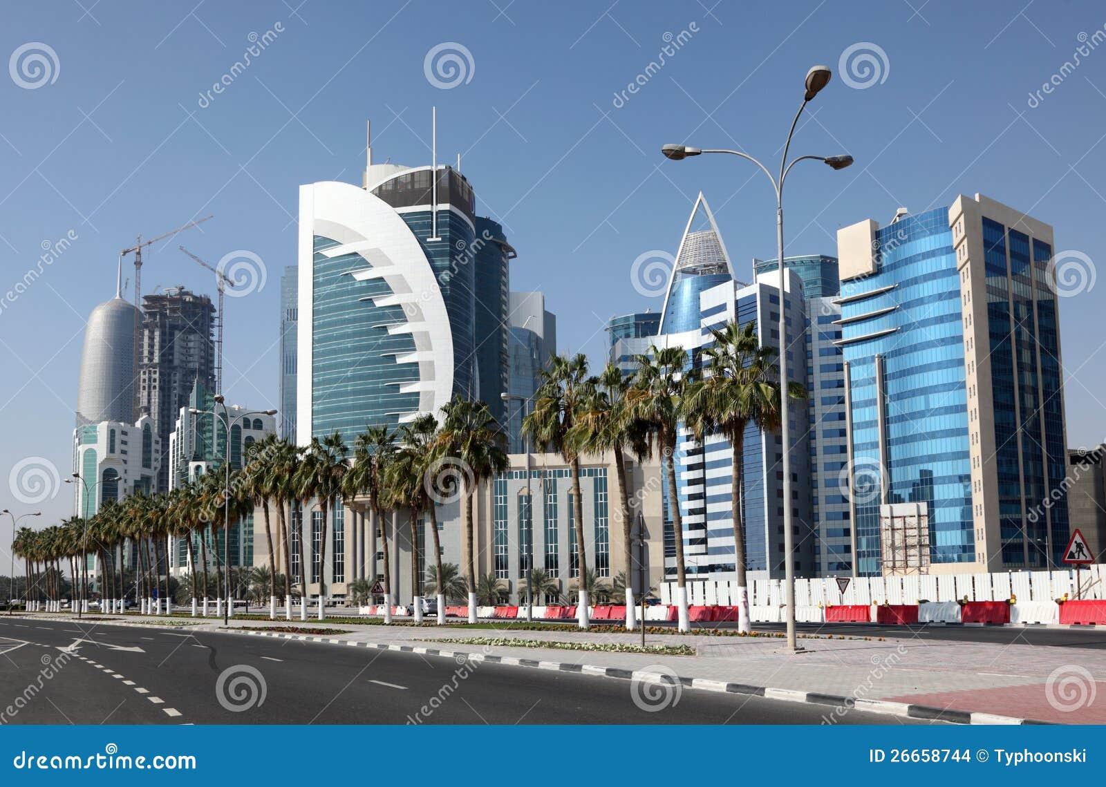 Doha śródmieście. Katar