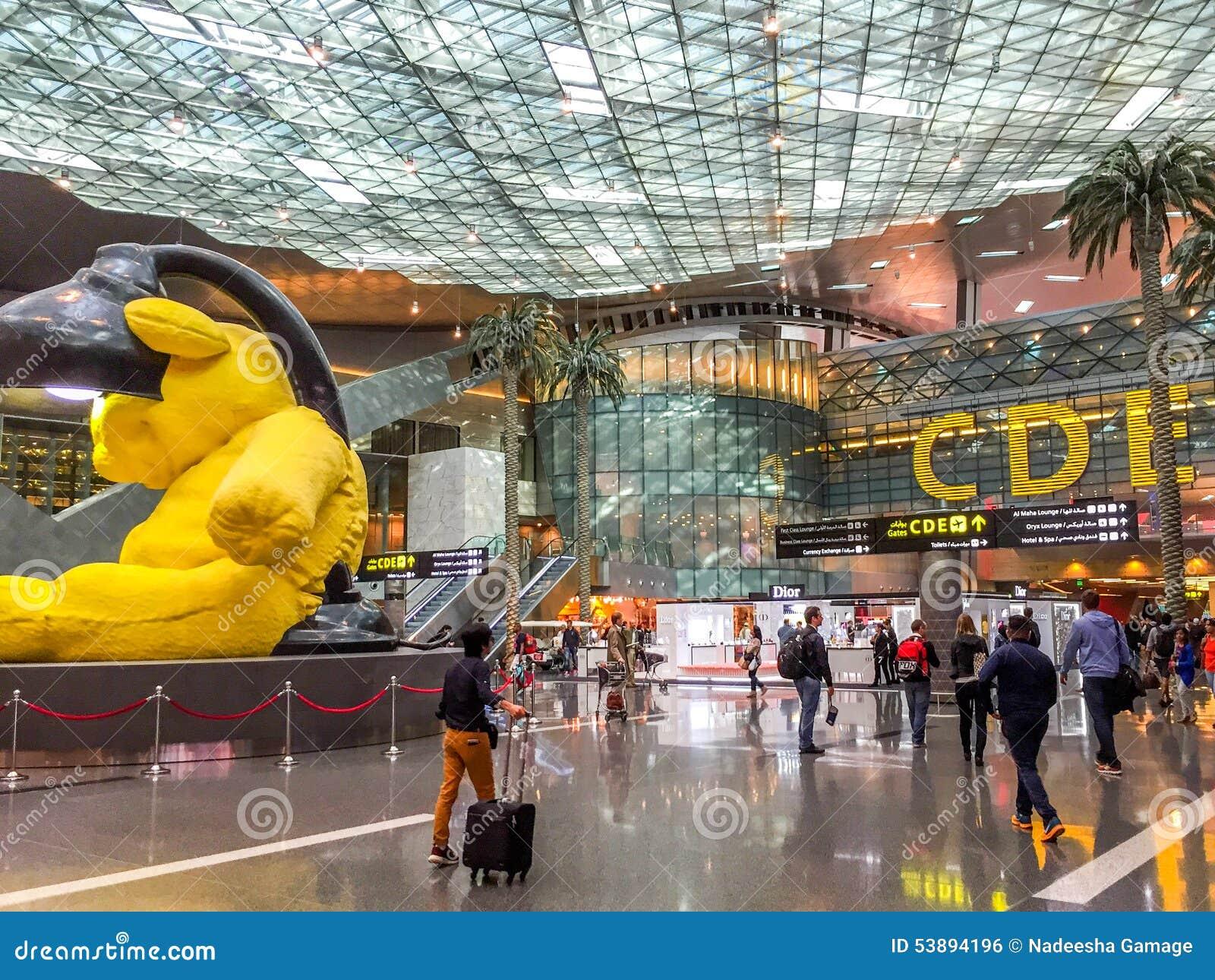 Aeroporto Hamad : Doha hamad airport editorial photo image of built duty