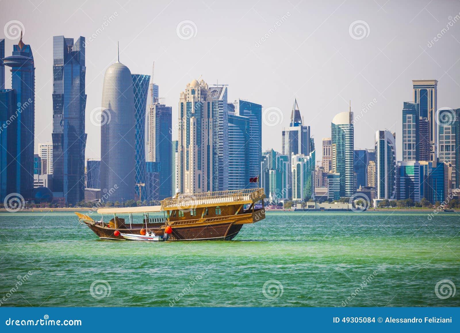 Doha, het Westenbaai