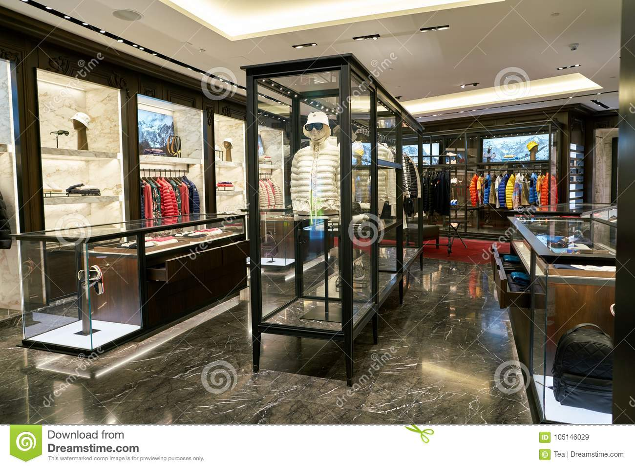 6a5fb7122 Moncler editorial stock image. Image of colour, commerce - 105146029