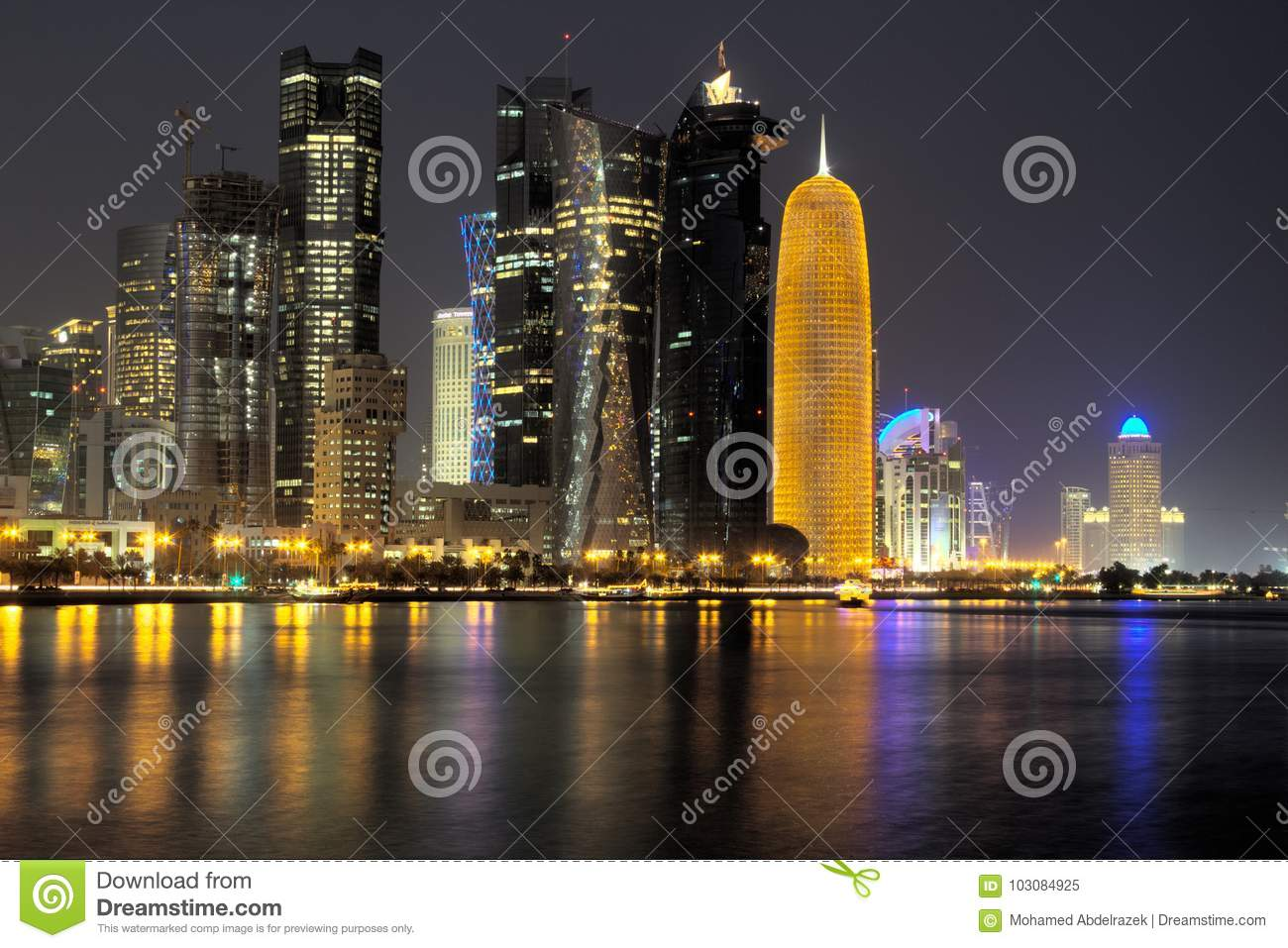 Doha Skyline Lights Wiring Diagrams Need Working Lm3915 Vu Meter Schematic Page 2 Diyaudio In The Evening Editorial Image Of Downtwon Rh Dreamstime Com Bangkok Qatar