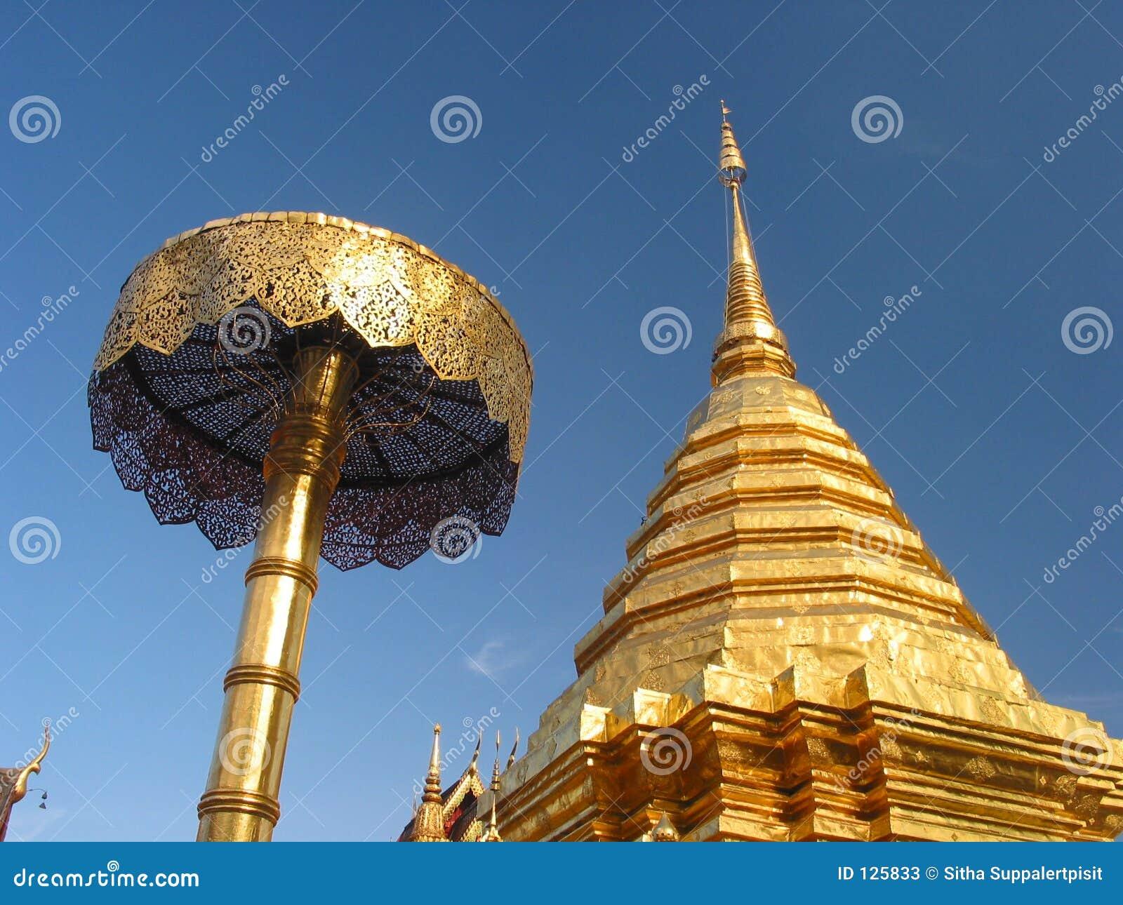 Doi chiang mai phrathat suthep wat Thailand