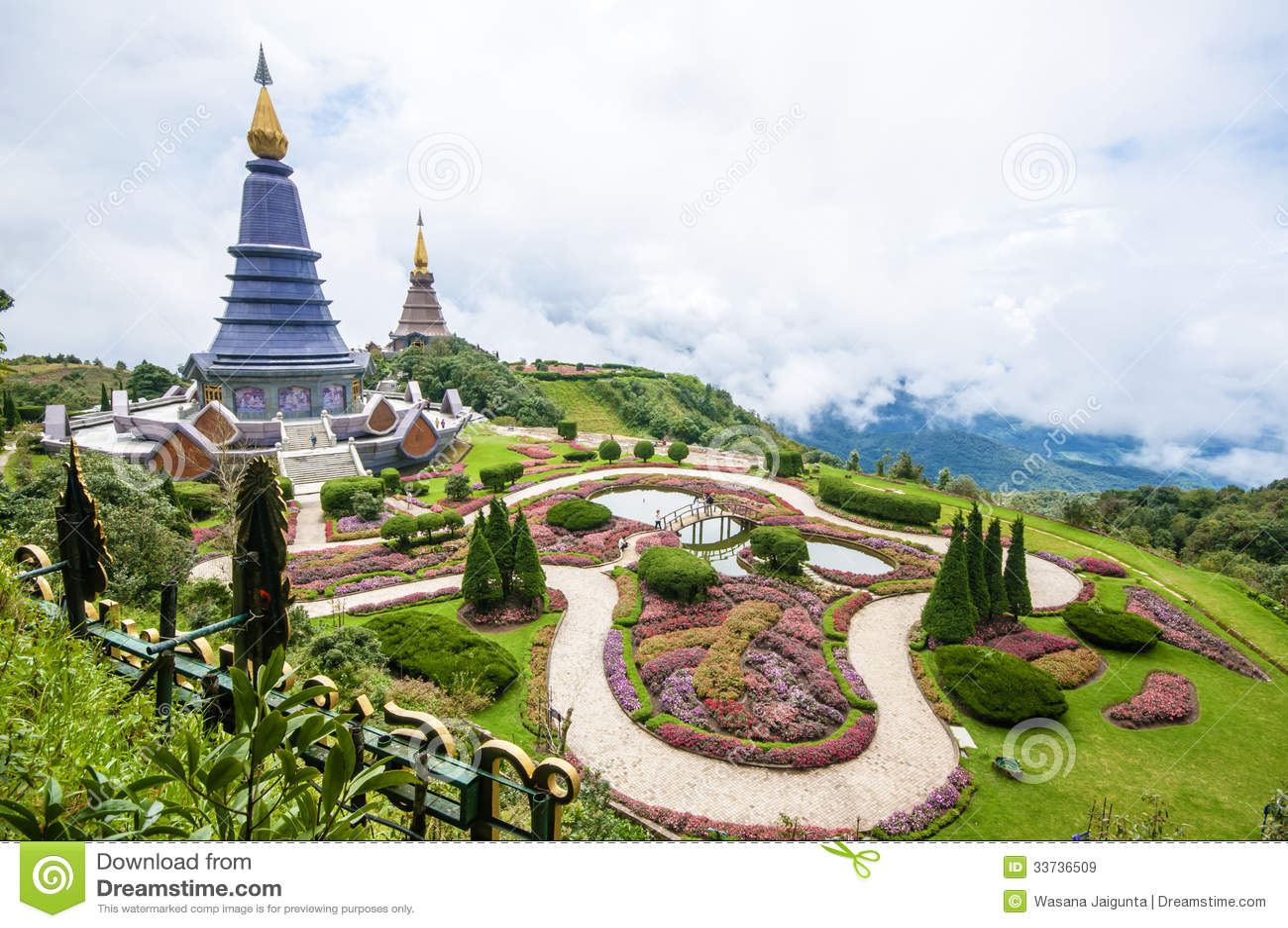 Doi Inthanon, Чиангмай, Таиланд