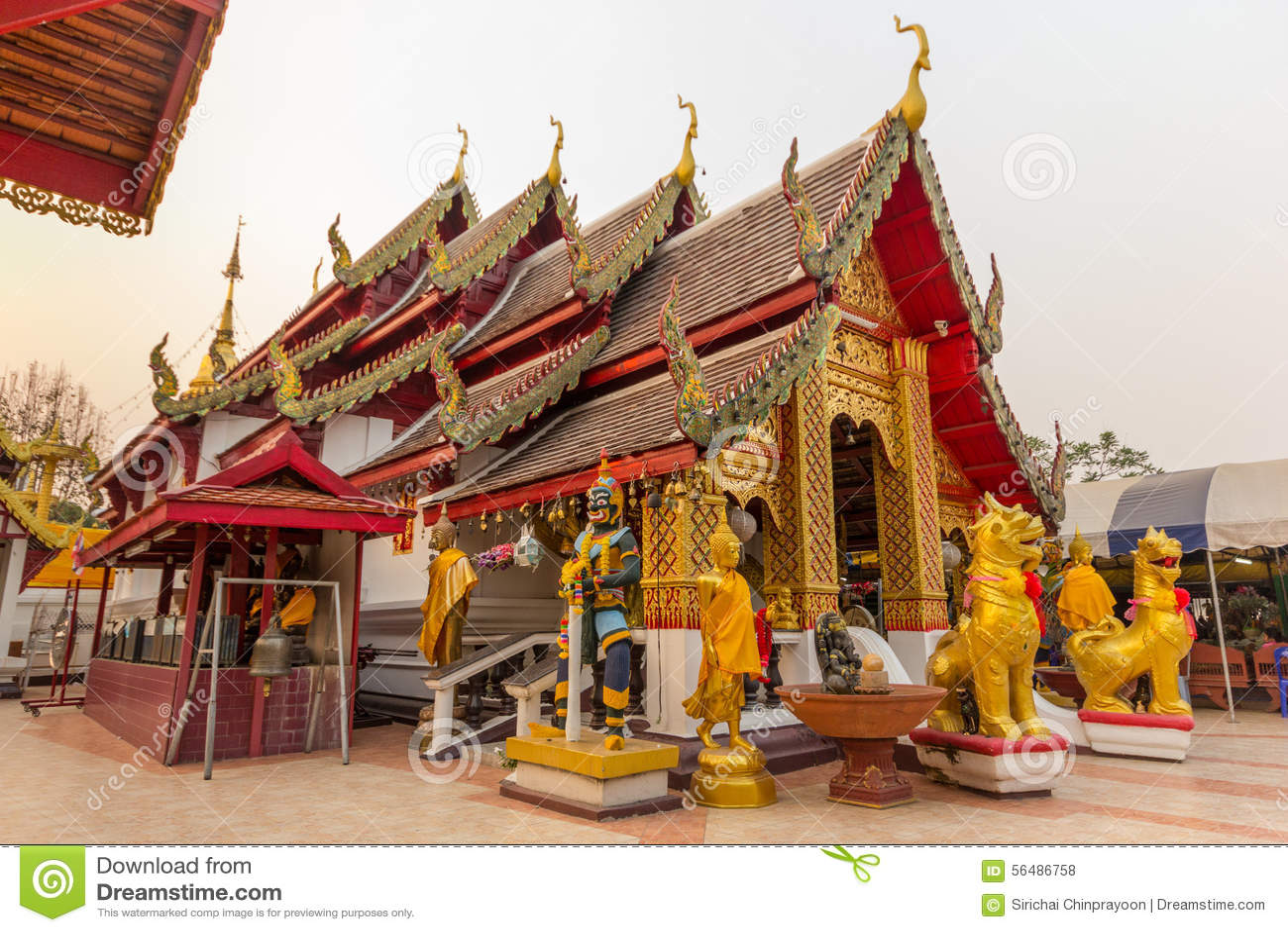 Doi Kham de phrathat de Wat