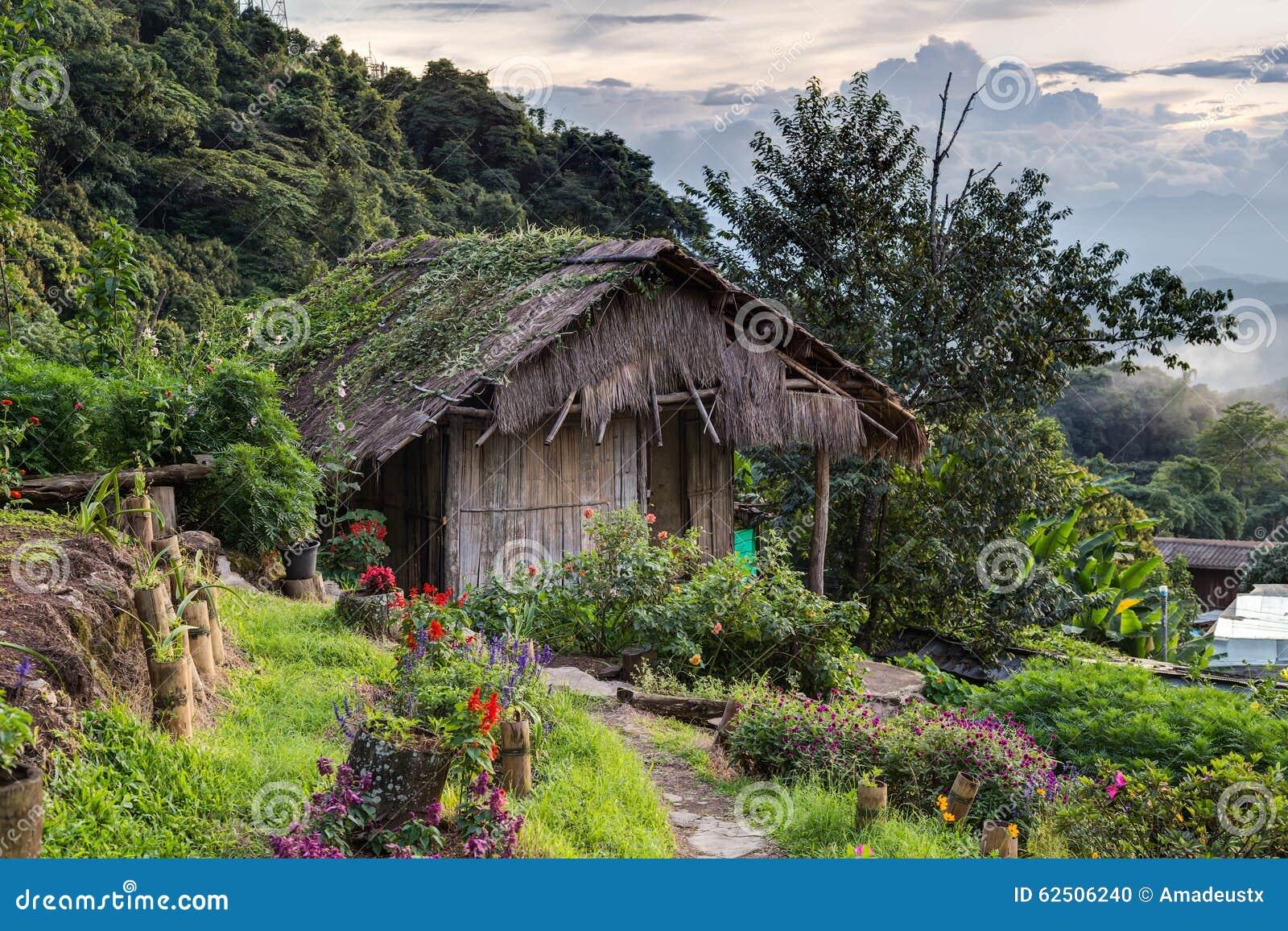 Doi Pui Mong Hill Tribe Village, Chiang Mai, Noordelijk Thailand