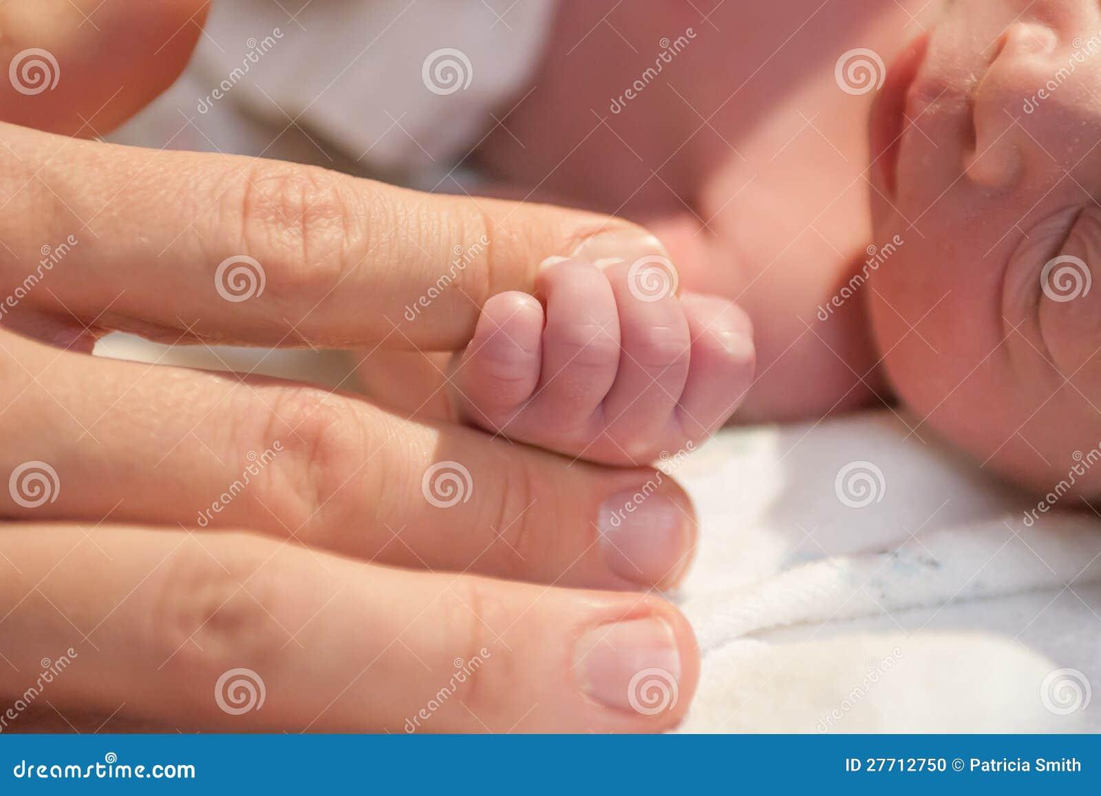 Doigt de fixation de Preemie