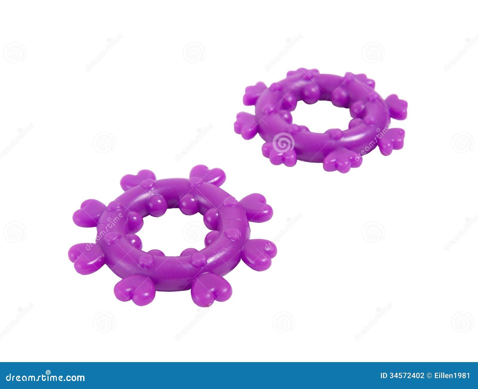 Dois anéis para a ereção do pênis