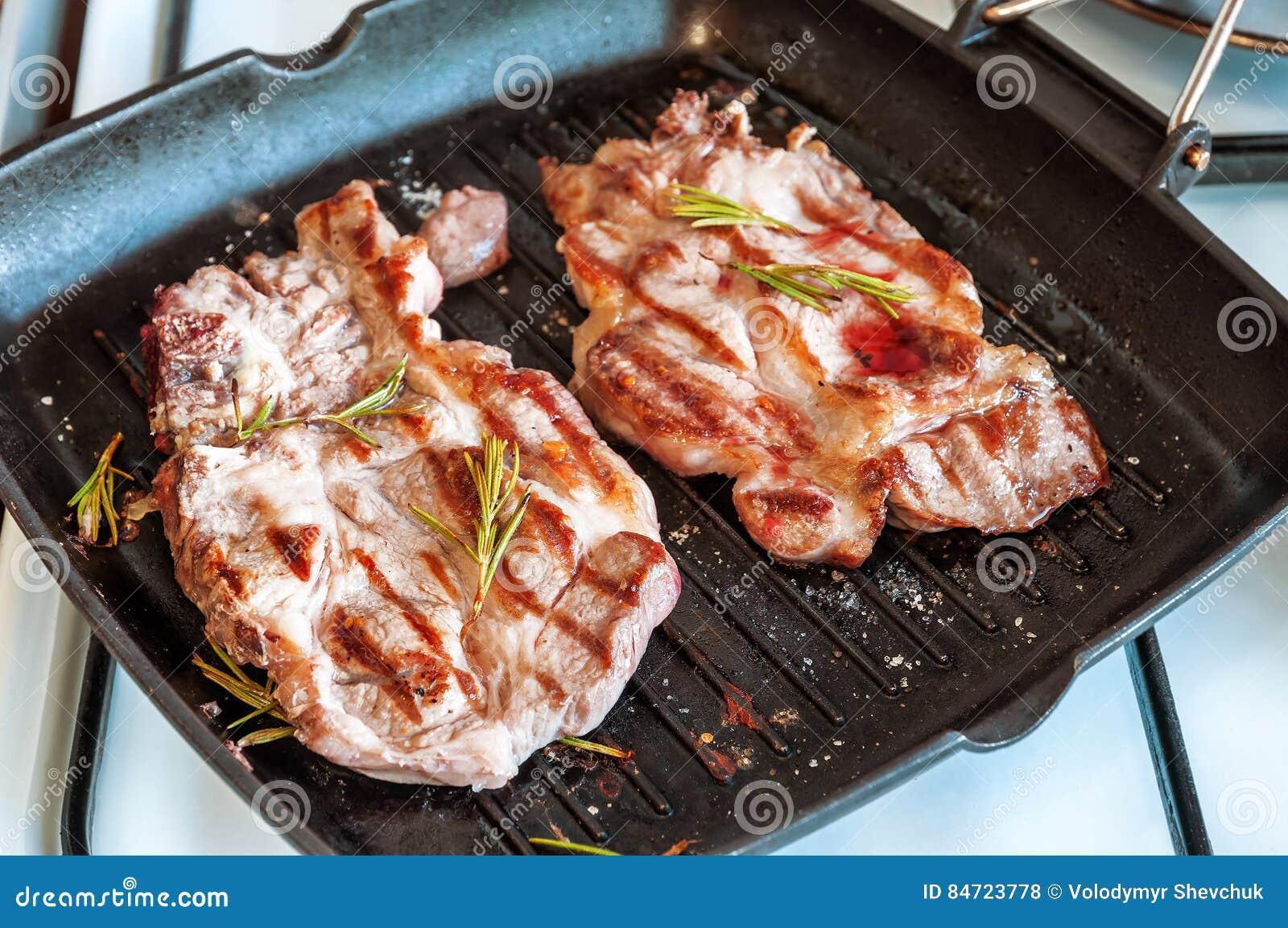 Dois bifes da carne