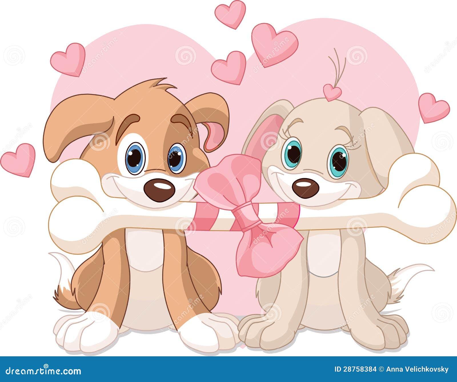 Dois cães do Valentim