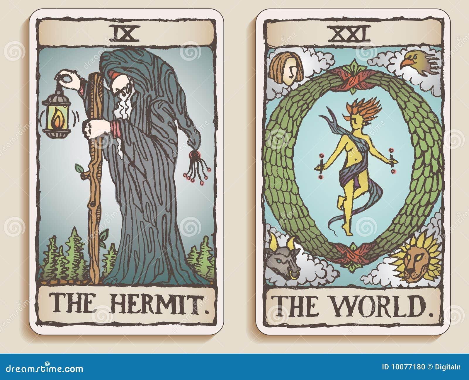 Dois cartões de Tarot v.4