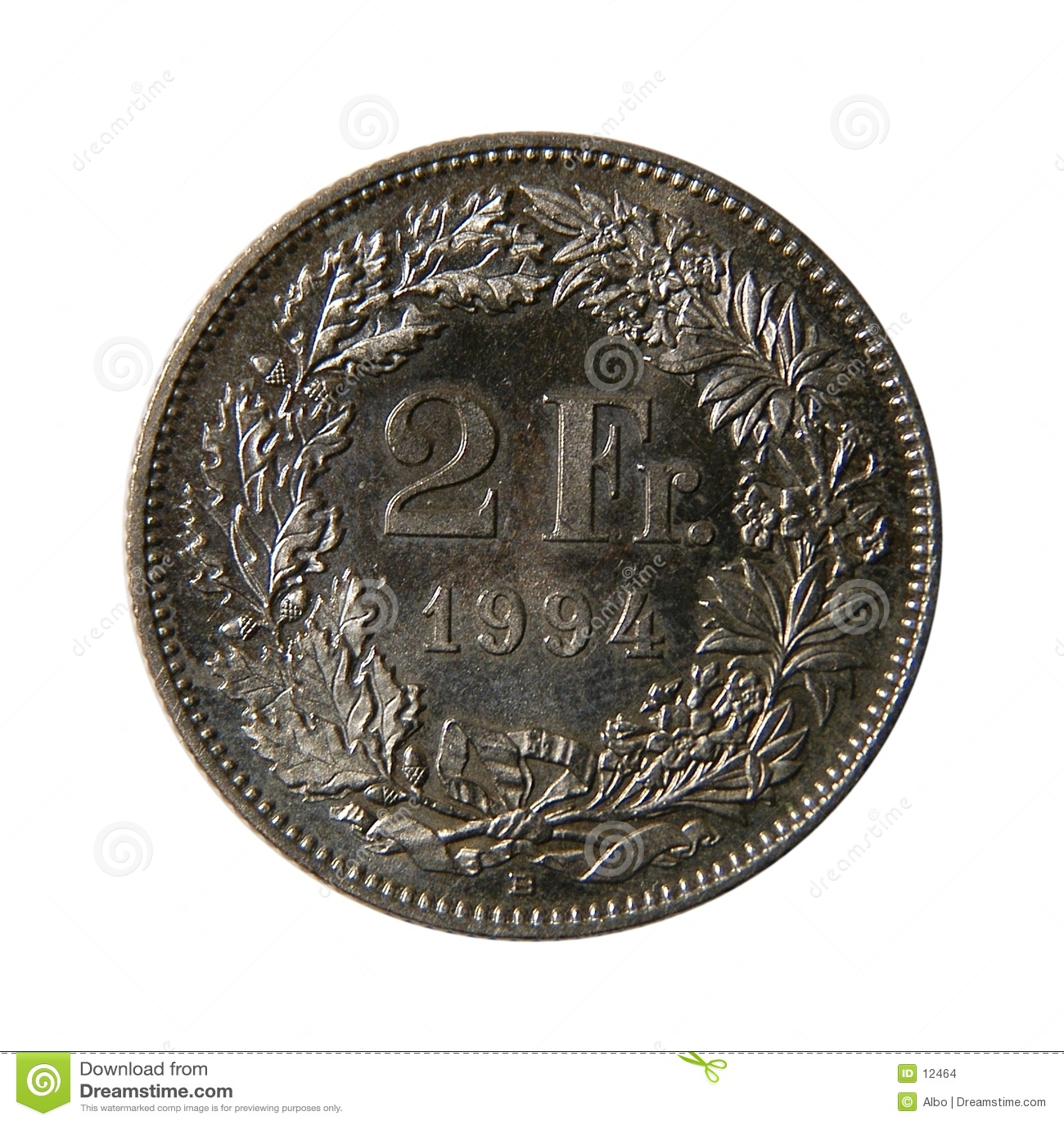 Dois francos franceses