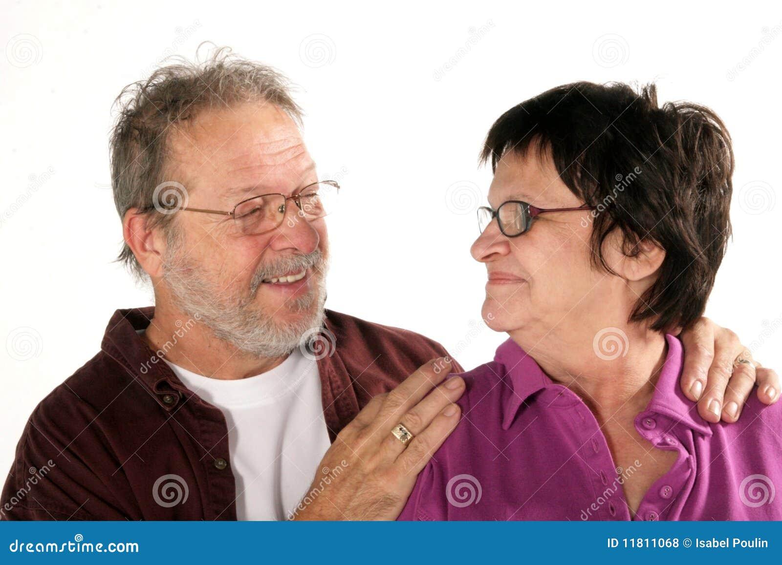 Dojrzała pary miłość
