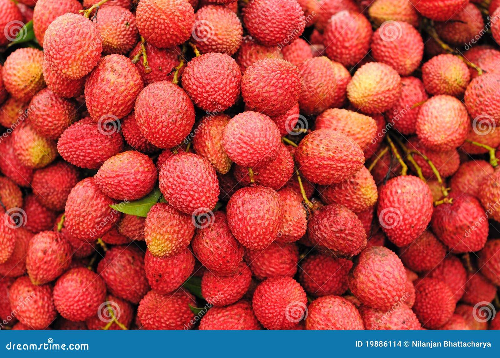 Dojrzały owoc lychee