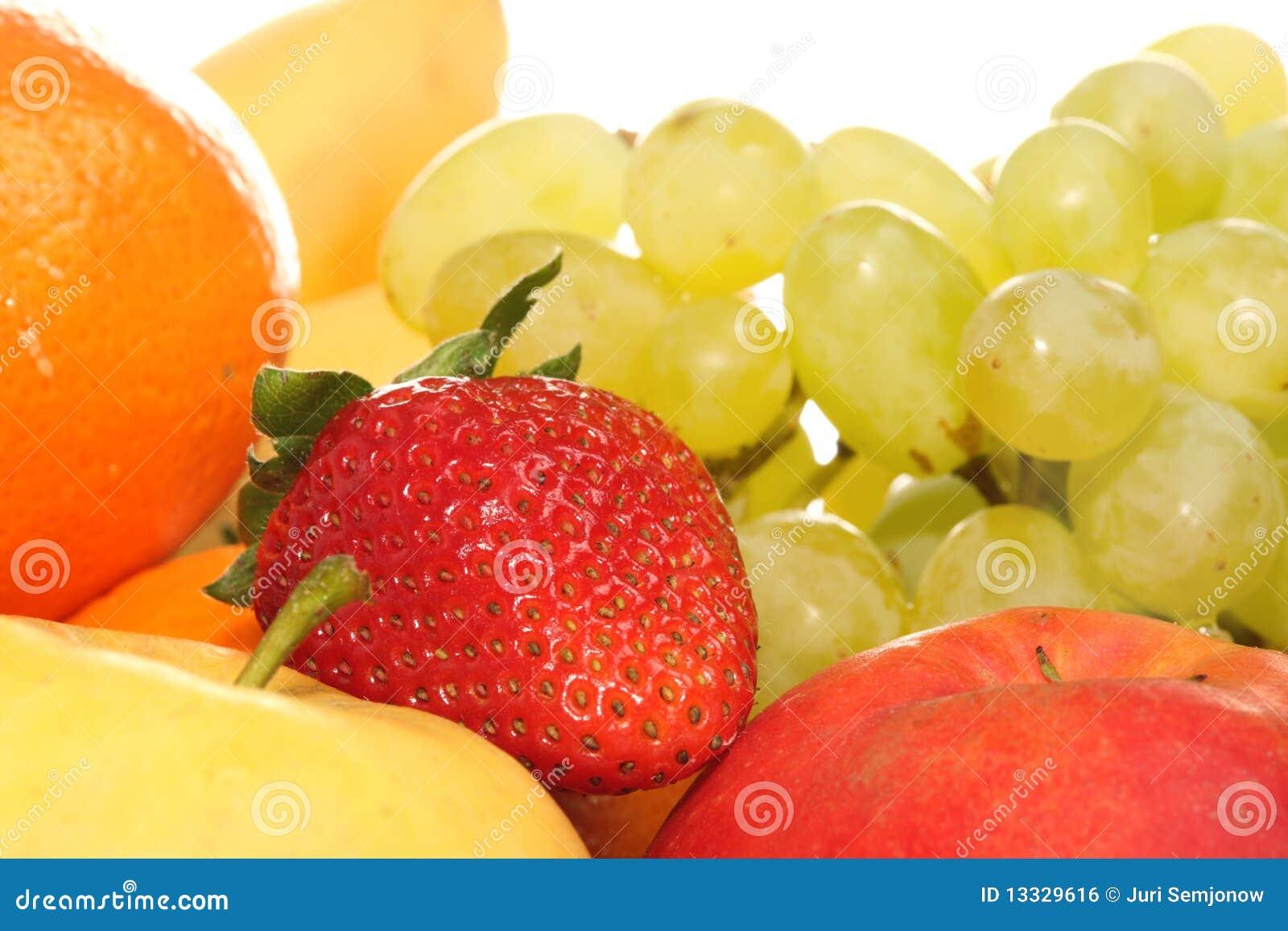 Dojrzały owoc biel